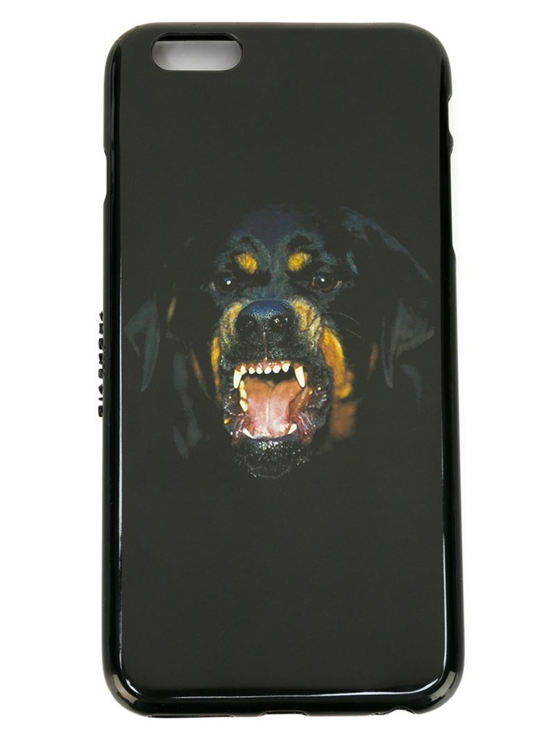 Lyst Givenchy Rottweiler Iphone 6 Plus Case In Black For Men