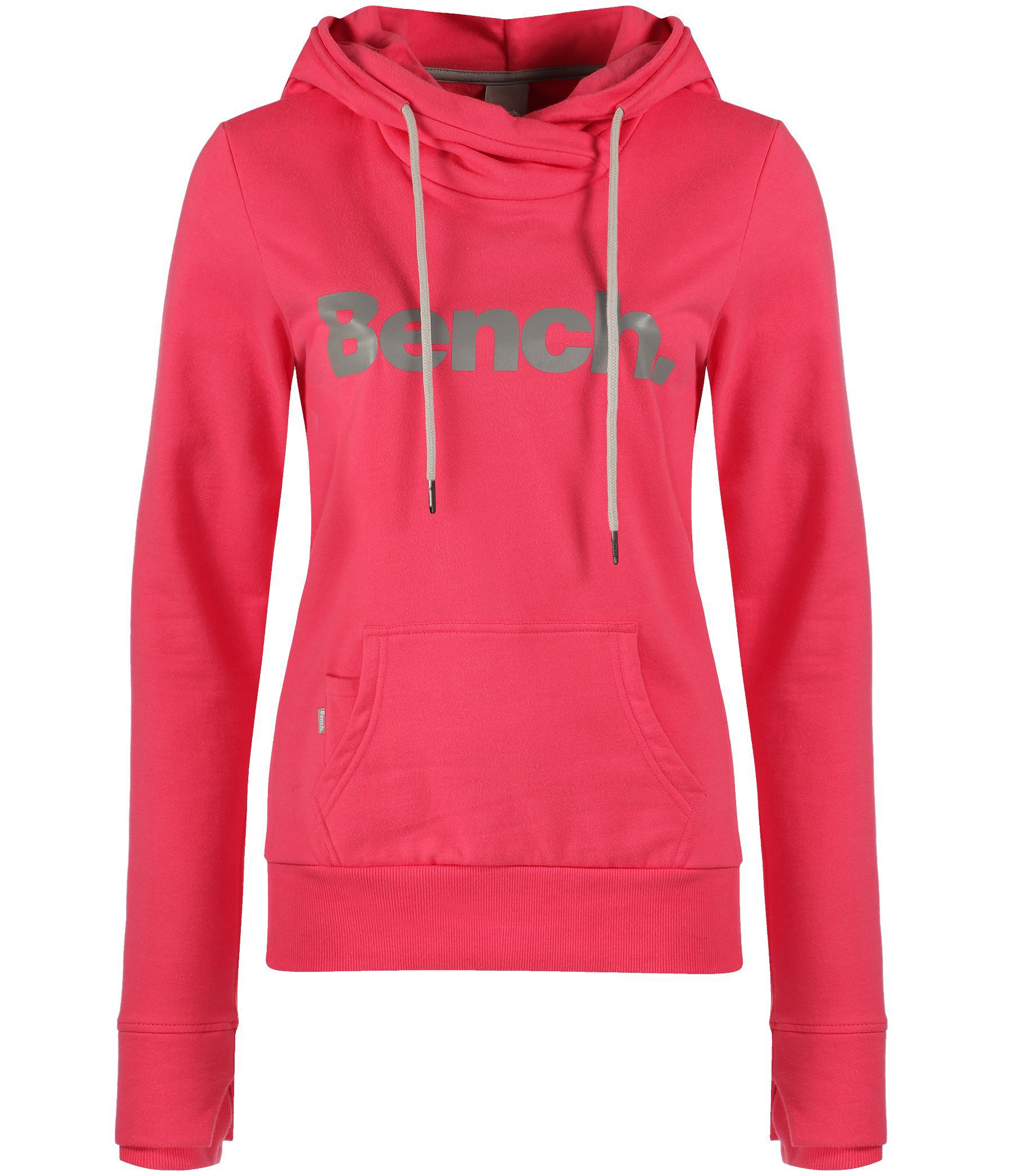 Bench Yoport Corp Logo Sweatshirt Hoodie In Pink Lyst