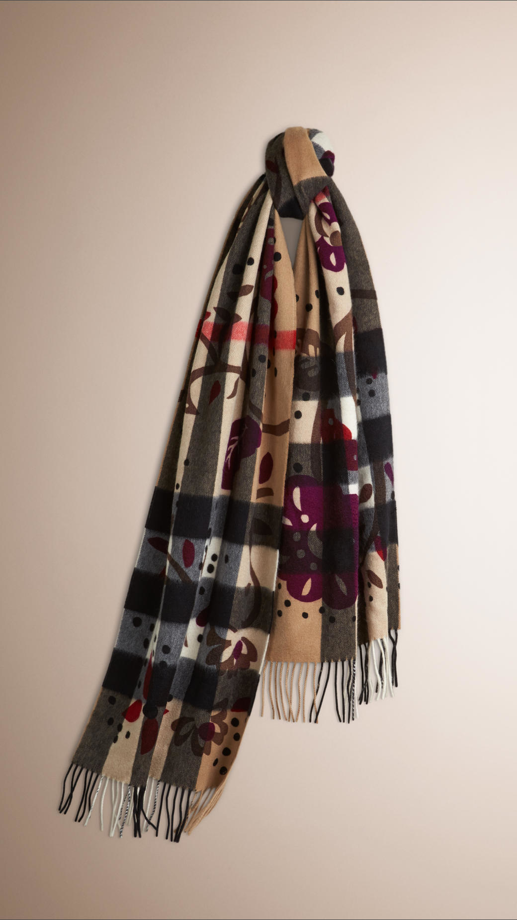 Brand New Unisex Sale Online Burberry floral print scarf Sale Genuine 2018 New Cheap Price Cost Cheap Price Free Shipping For Cheap SDaWjvrh