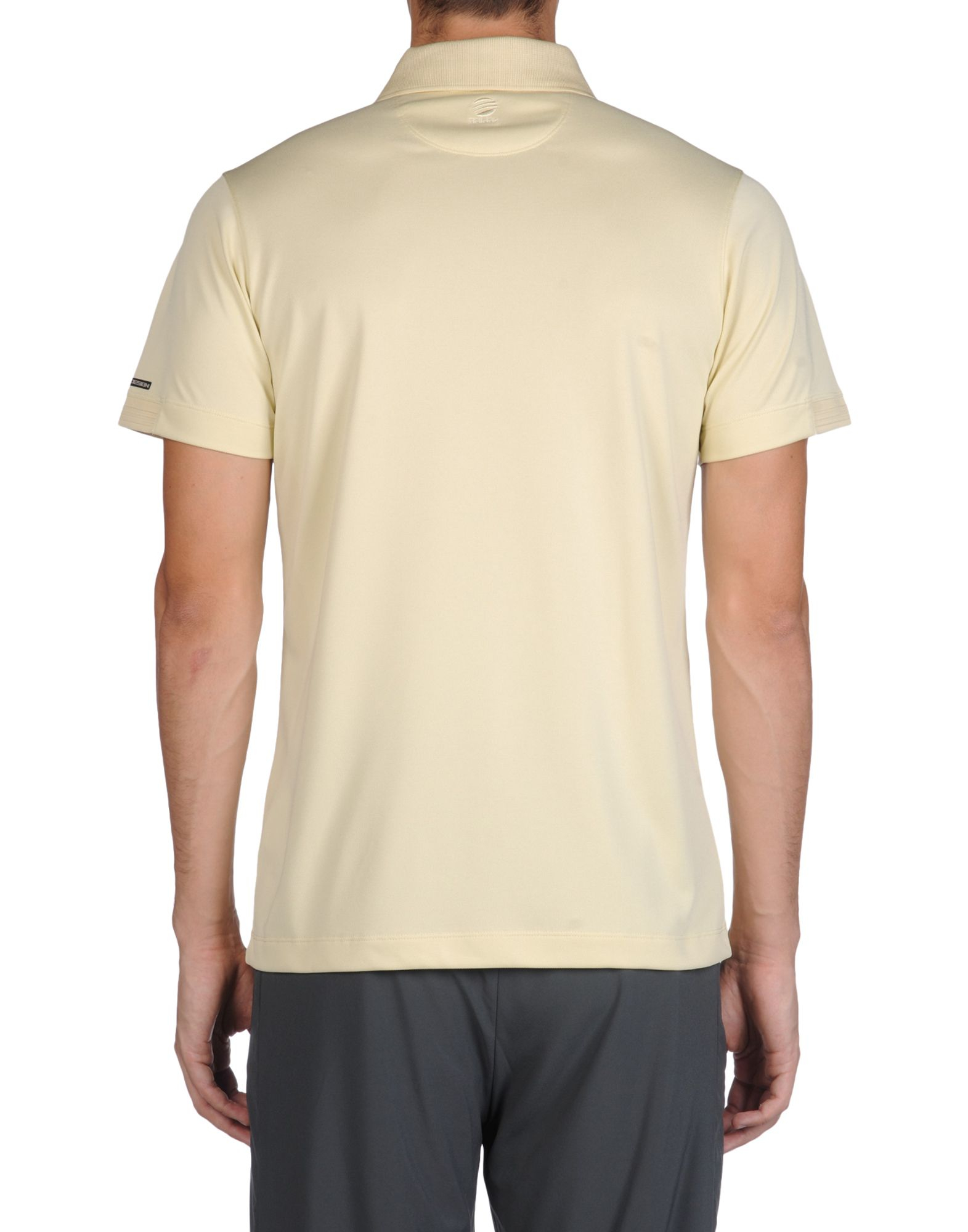 porsche design sport by adidas polo shirt in beige for men. Black Bedroom Furniture Sets. Home Design Ideas