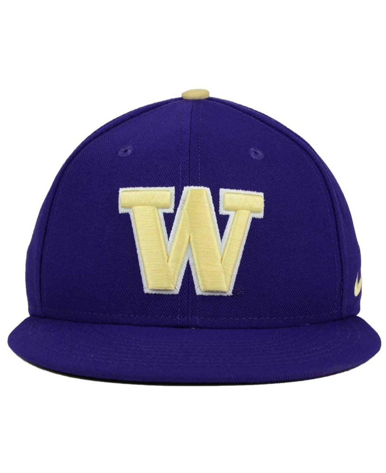967696a02bc Lyst - Nike Washington Huskies True Hardwood Seasonal Cap in Blue ...