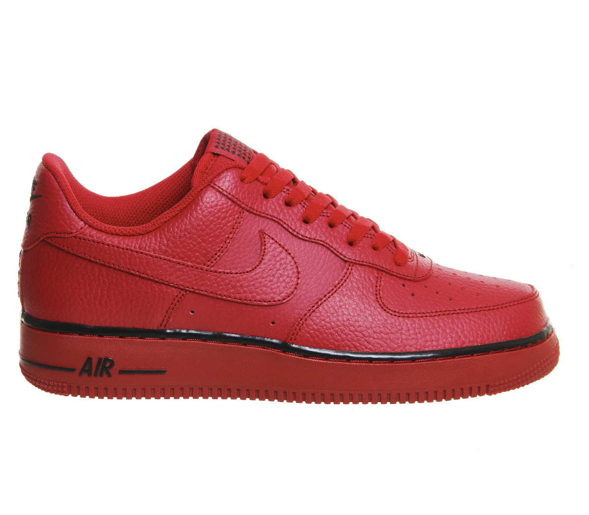 lyst nike air force one in red for men. Black Bedroom Furniture Sets. Home Design Ideas