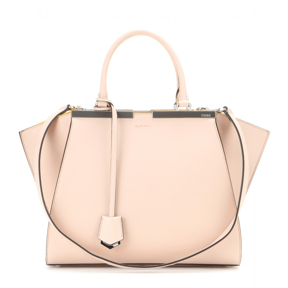 Lyst - Fendi 3Jours Leather Tote in Pink dbf5b72b49708