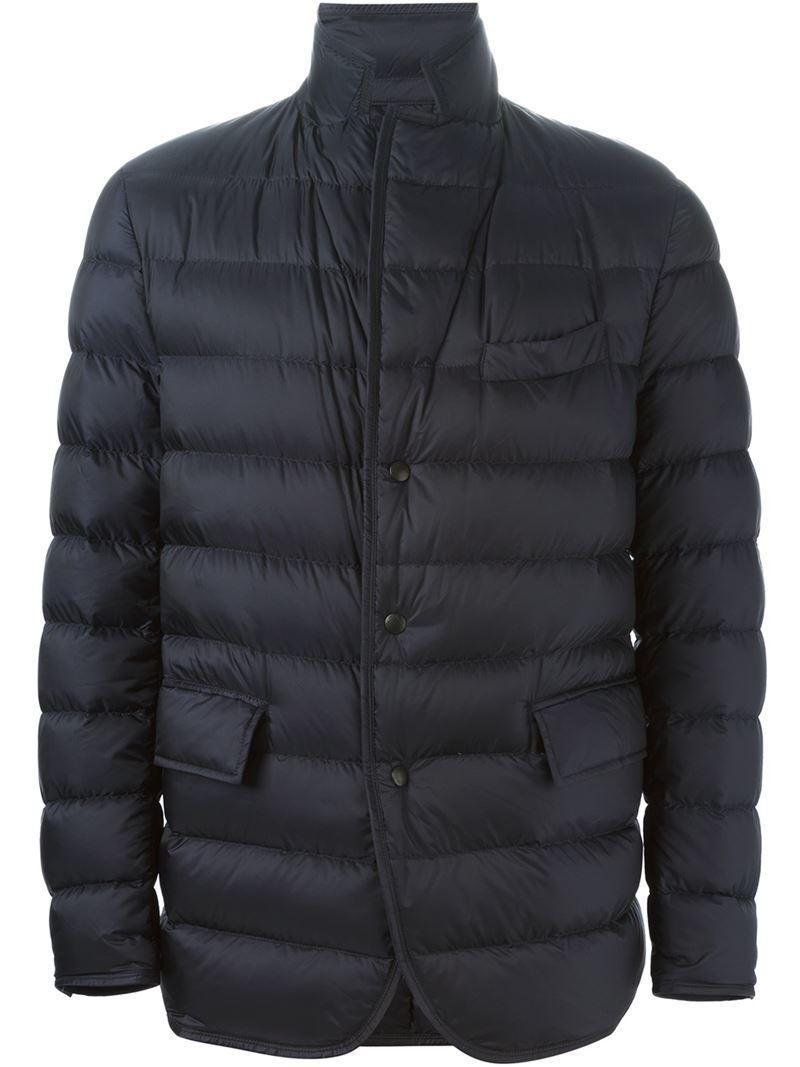 Moncler 'rodin' Padded Jacket in Black for Men (blue)