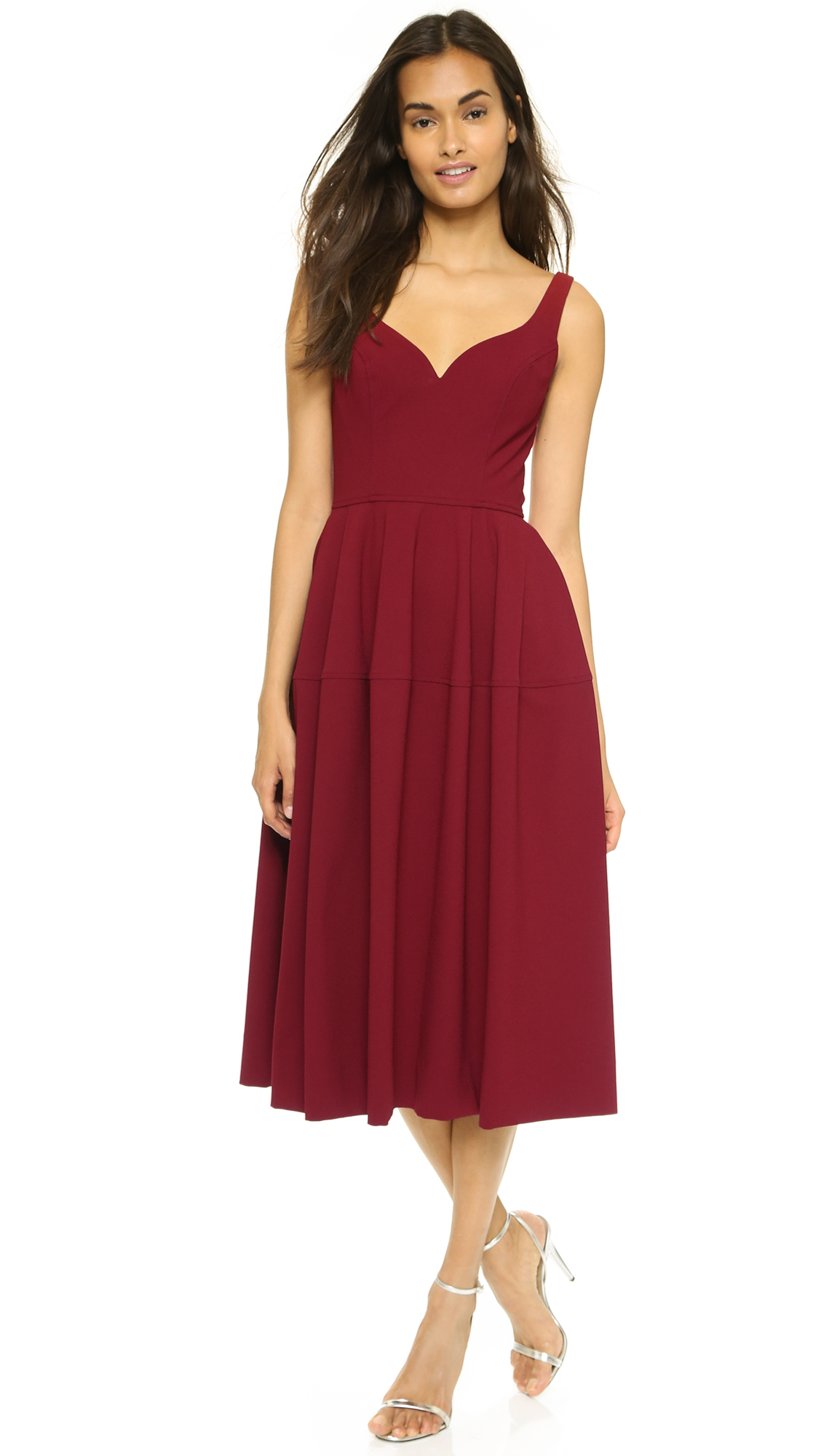 35be9c7b22 Lyst - JILL Jill Stuart Sweetheart Cocktail Dress - Cherry Wood in Red