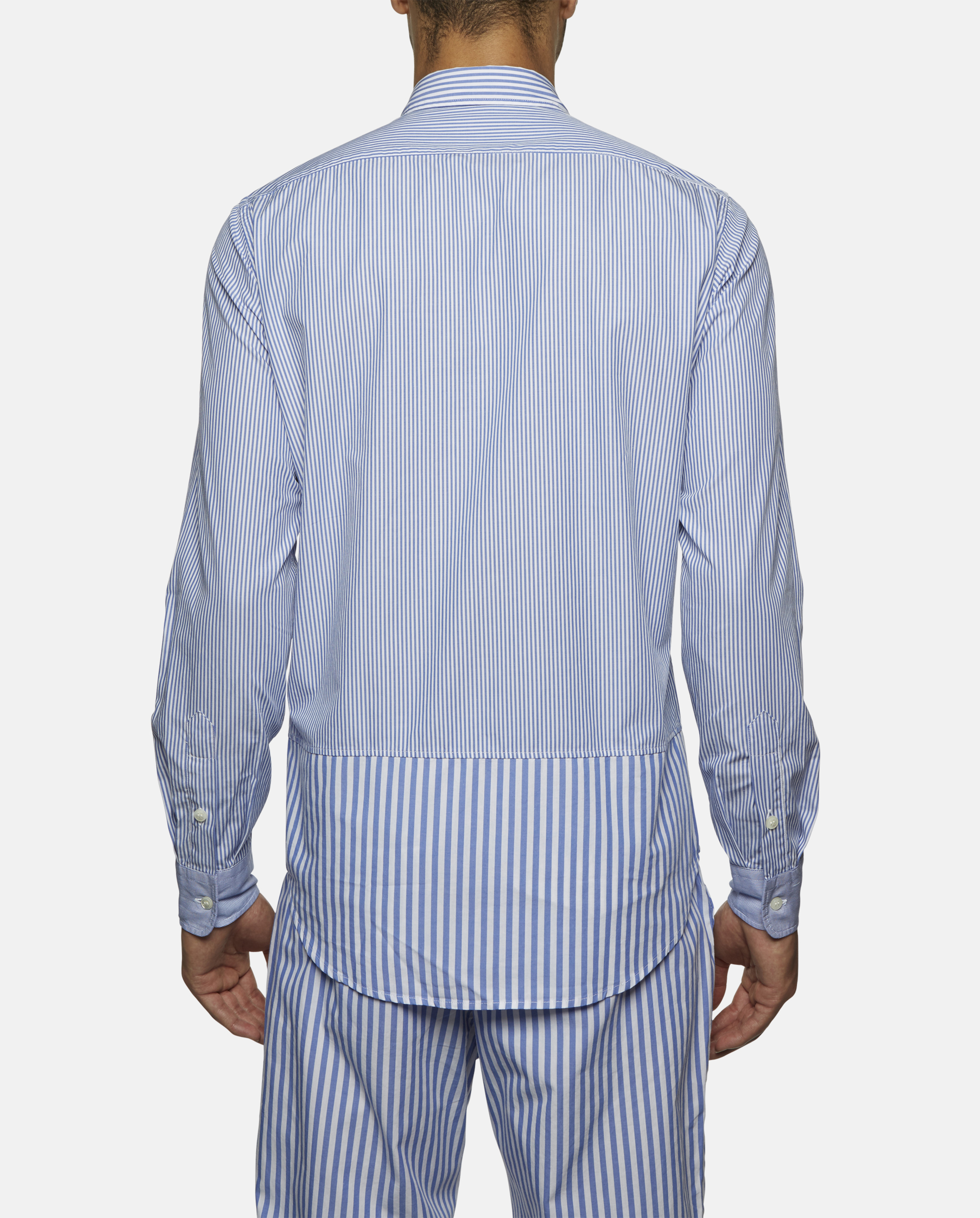 Lyst Roundel London Striped Long Sleeve Shirt In Blue