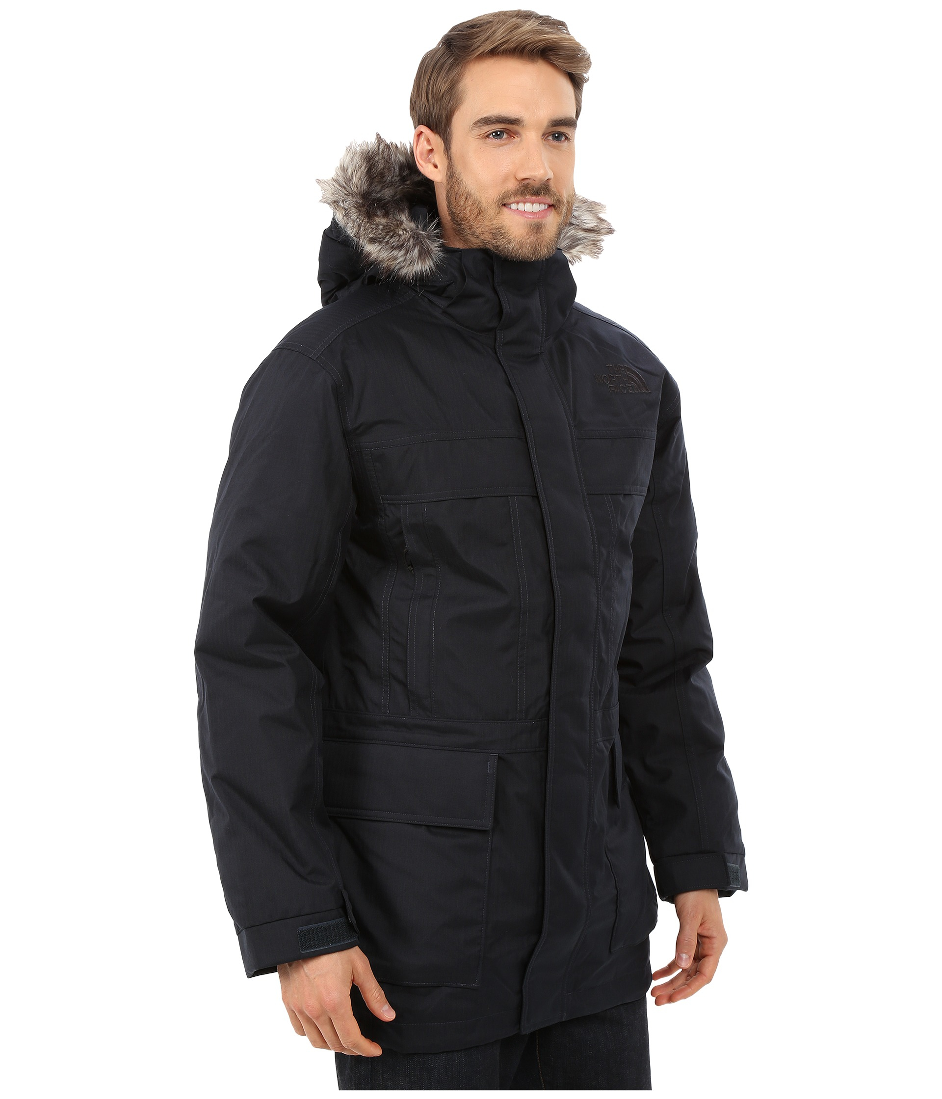 lyst the north face mcmurdo parka ii in blue for men. Black Bedroom Furniture Sets. Home Design Ideas