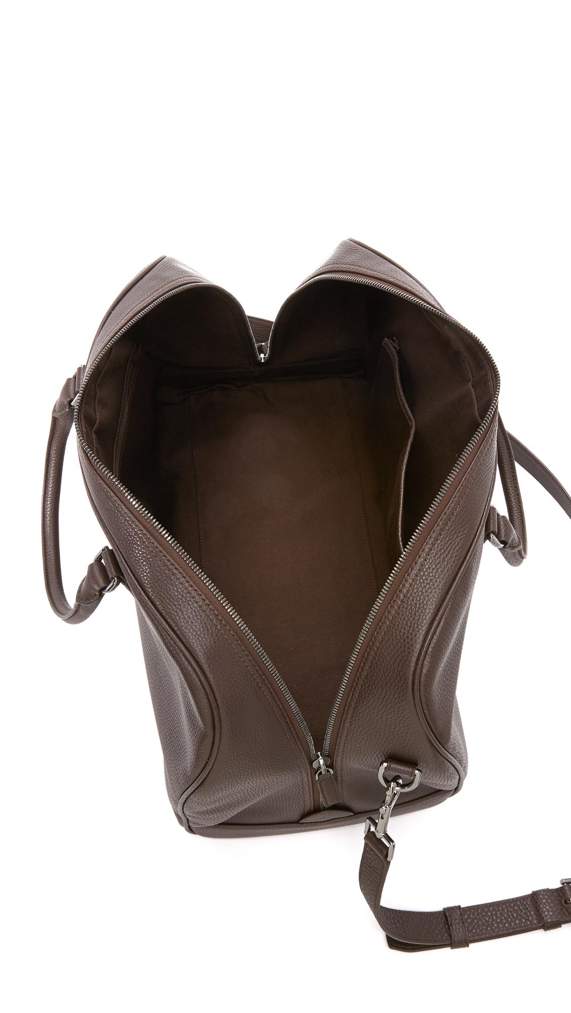 Michael Kors Bryant Pebbled Leather Large Duffel Bag In
