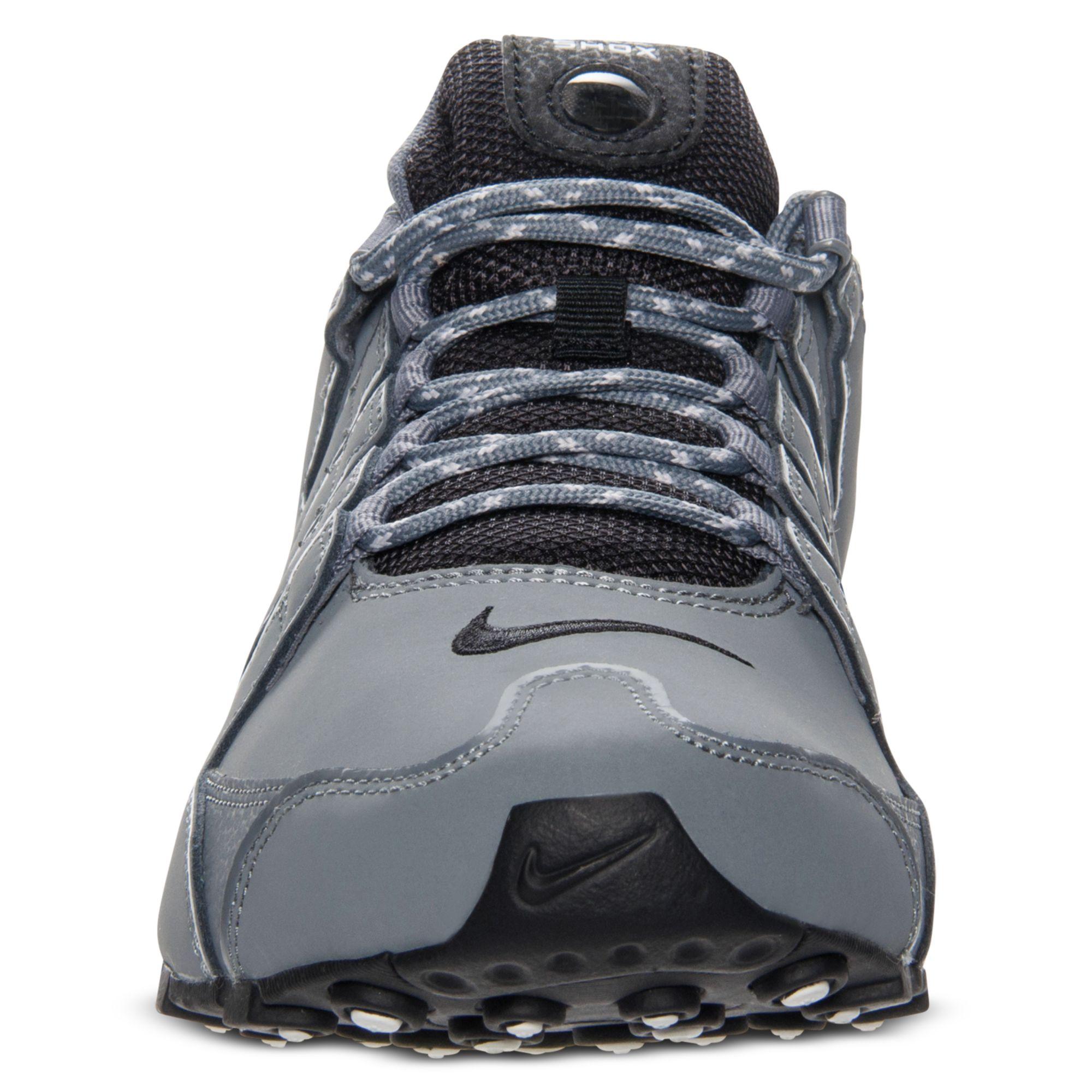 Nike Mens Shox Nz Eu Running Sneakers in Gray for Men - Lyst