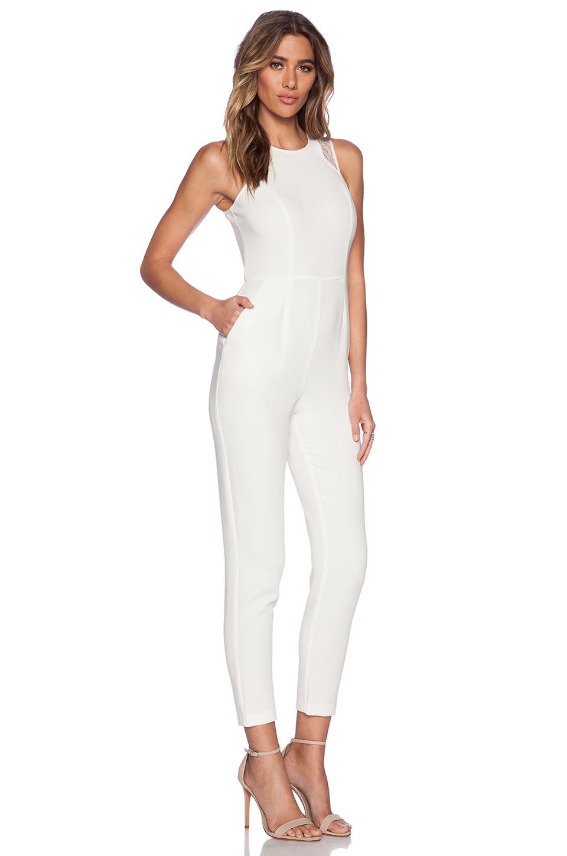 Lyst Bcbgeneration Sleeveless Jumpsuit In White