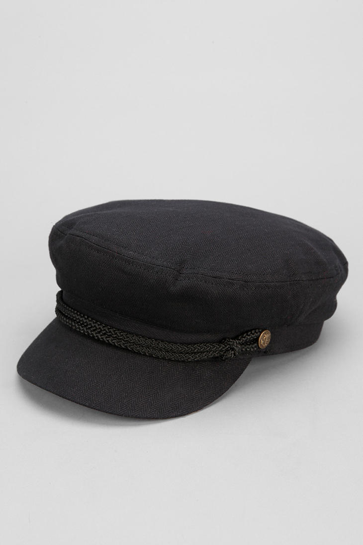 Lyst - Urban Outfitters Brixton Fiddler Fisherman Cap in Black for Men 51253be2d6ab