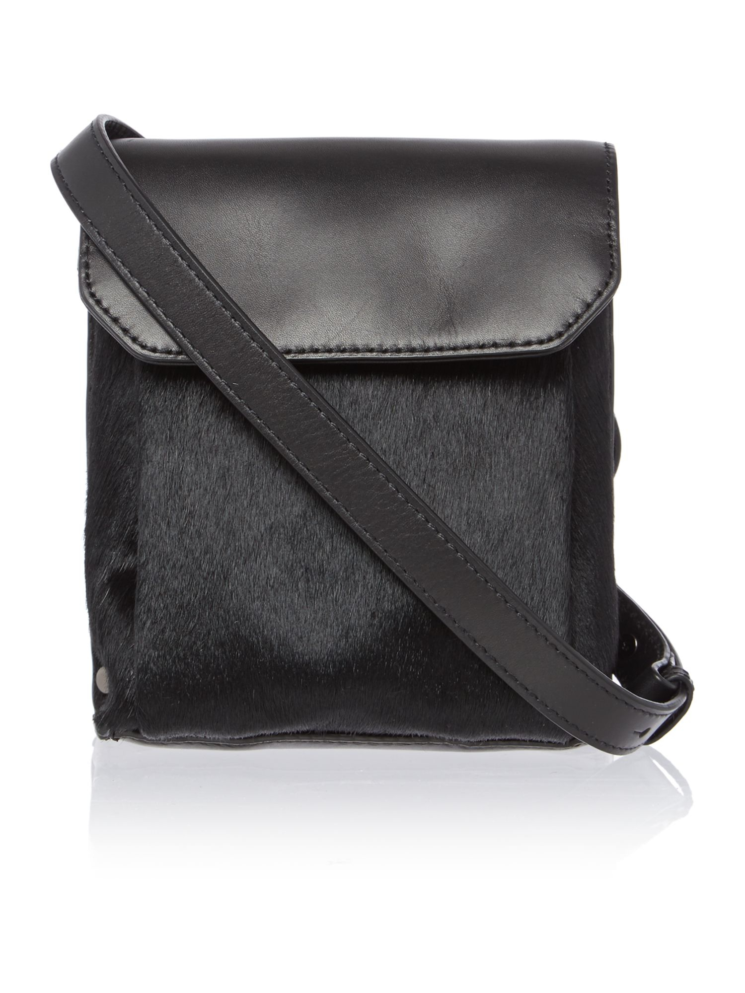 Kenneth Cole Cooper Black Small Crossbody Bag In Black Lyst
