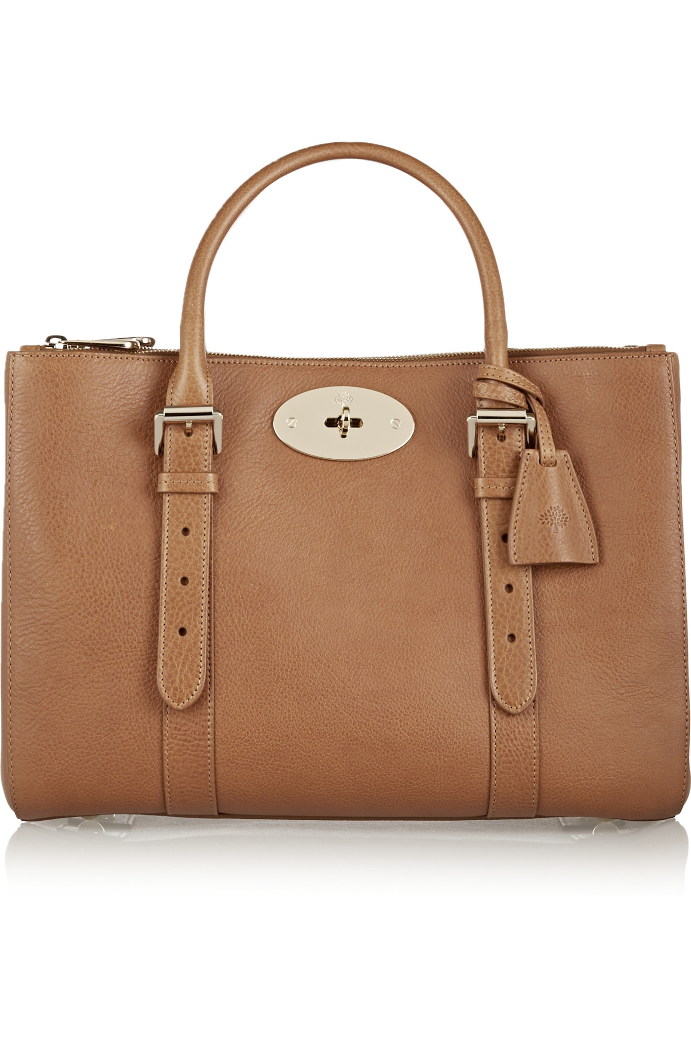 Mulberry small 39 bayswater 39 tote in brown save 50 lyst for The bayswater