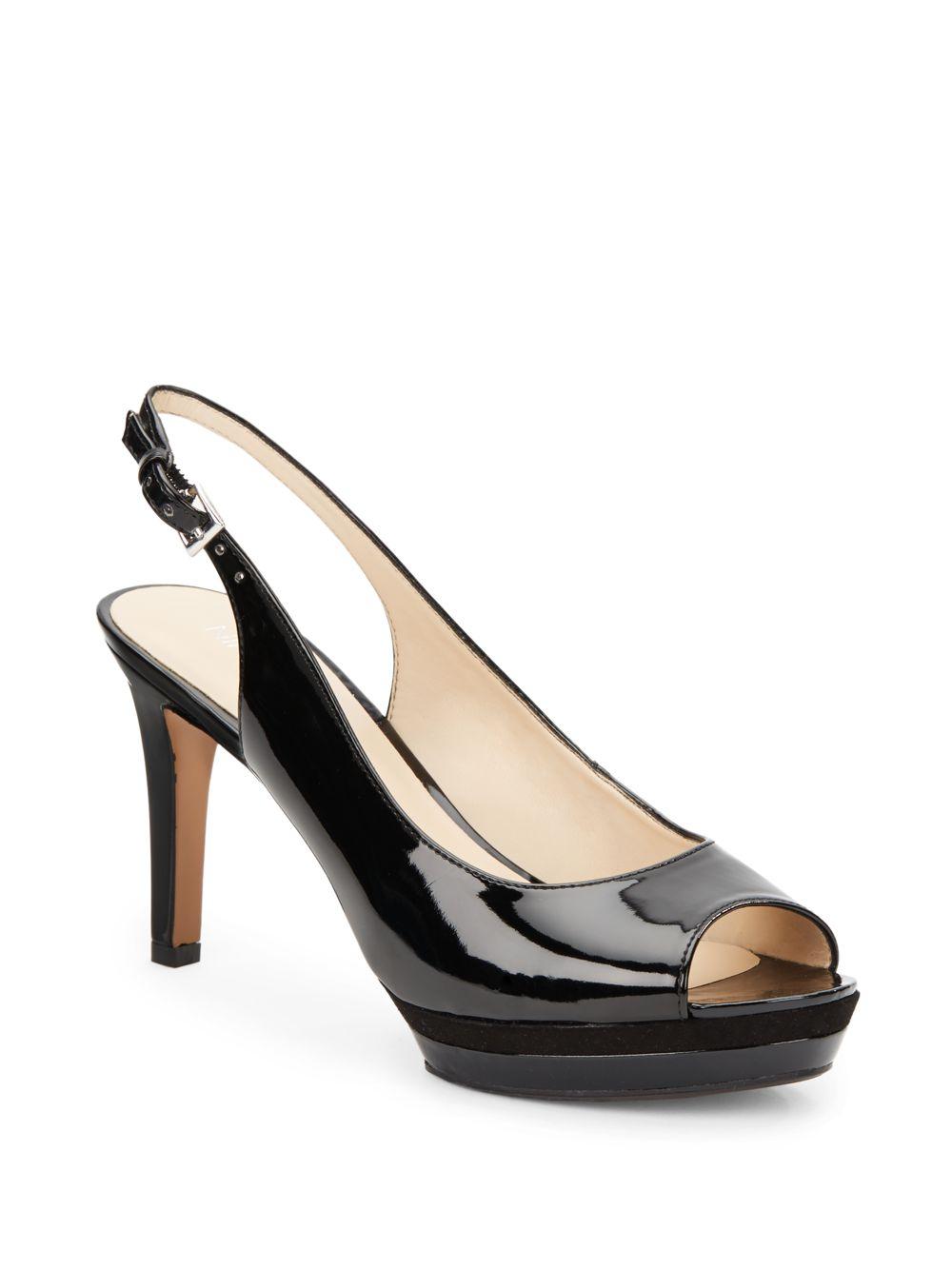 Nine West  Strap Black Shoes