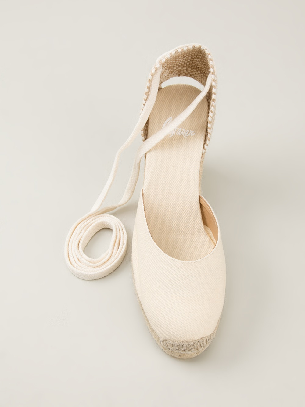 20506fc309e Castaner Carina Espadrille Sandals in Natural - Lyst