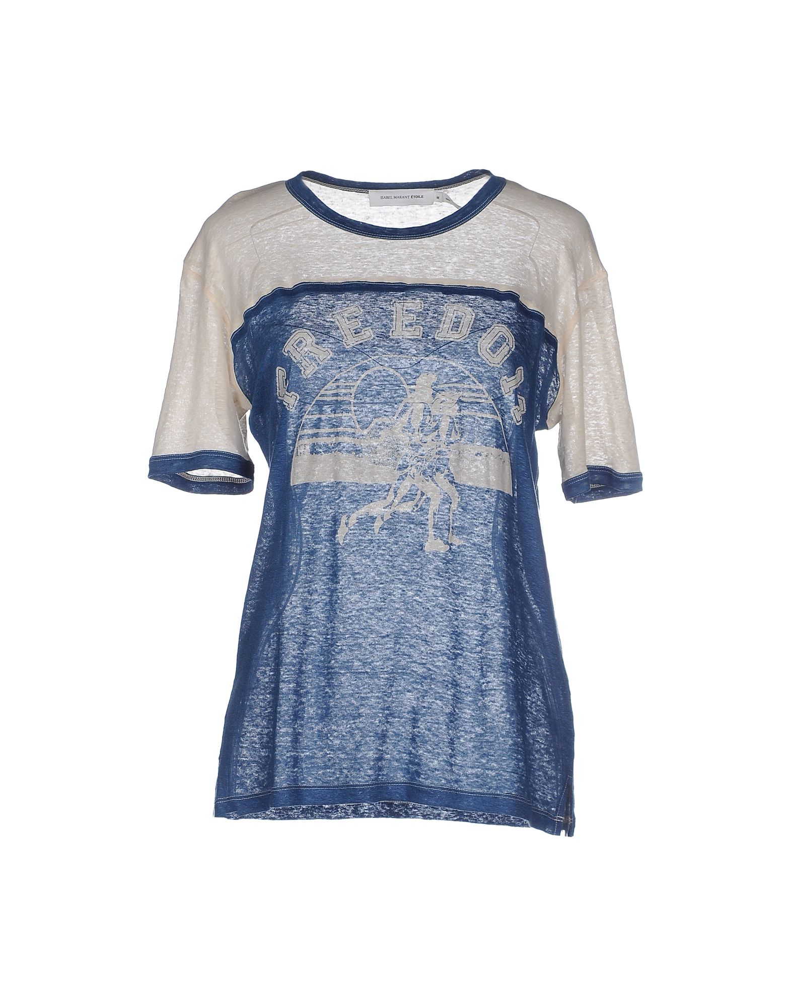 Lyst Toile Isabel Marant T Shirt In Blue