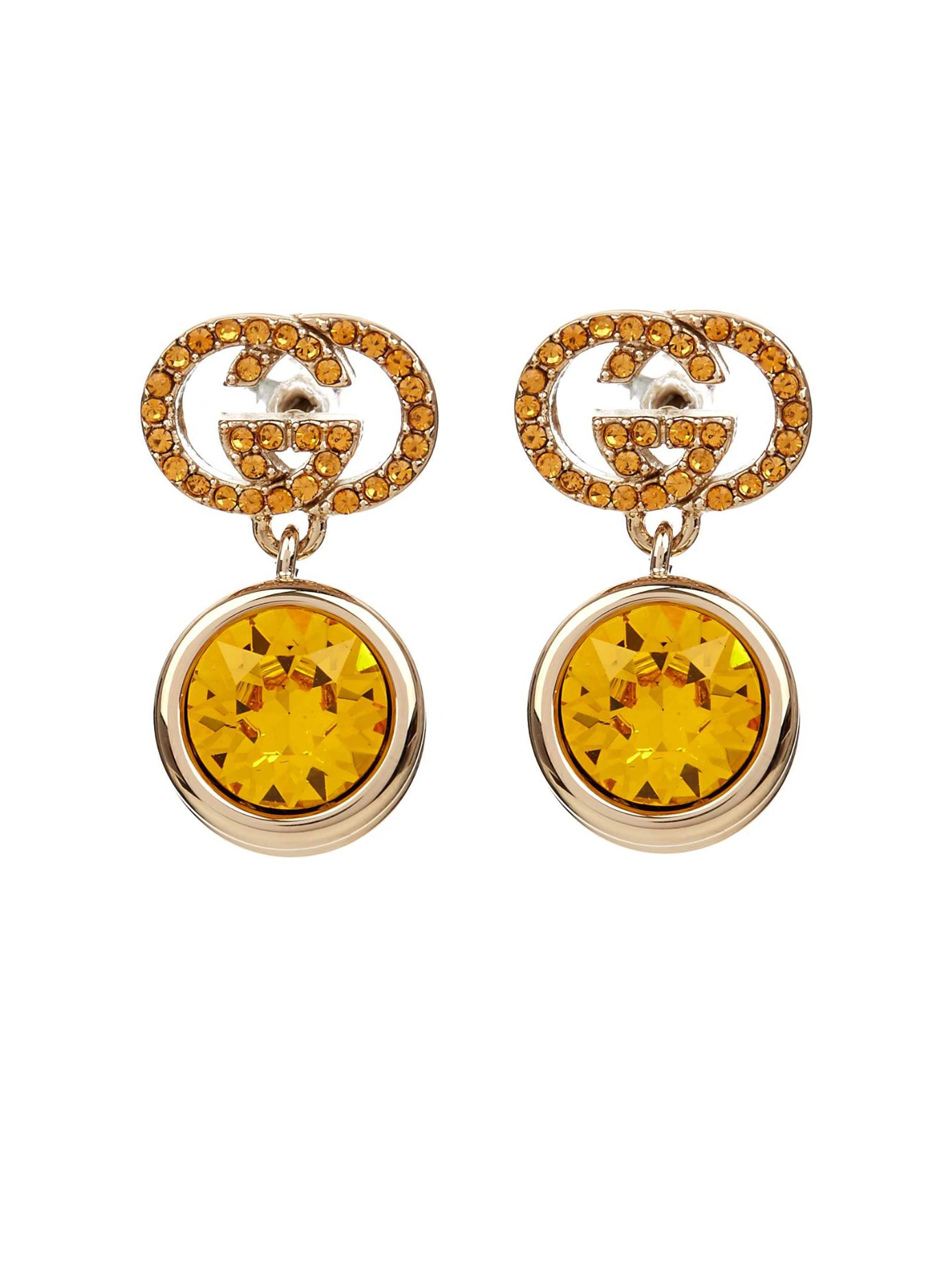 Crystal-embellished earrings Gucci
