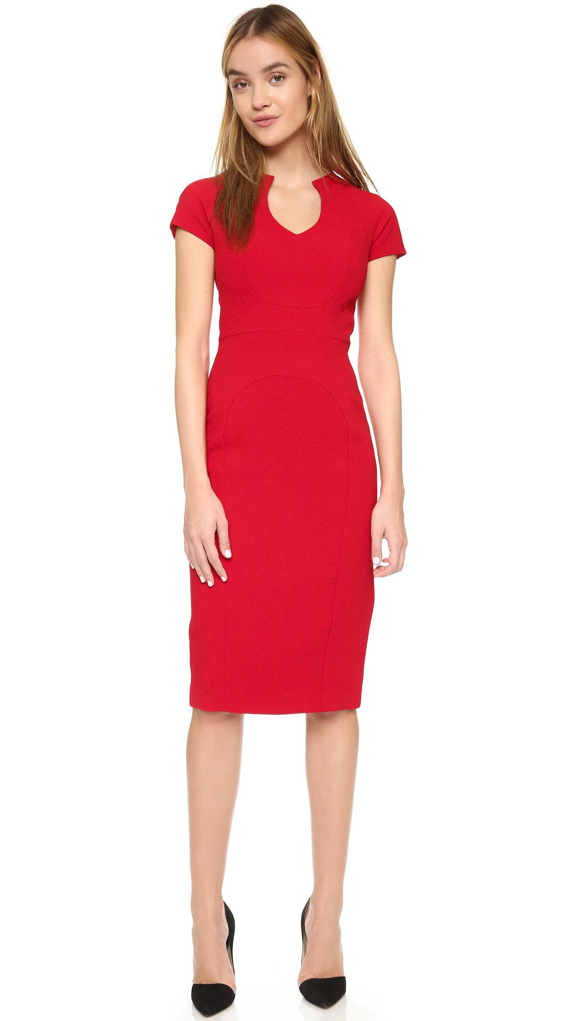 0c3b547a920 Black Halo Gypsy Rose Sheath Dress in Red - Lyst