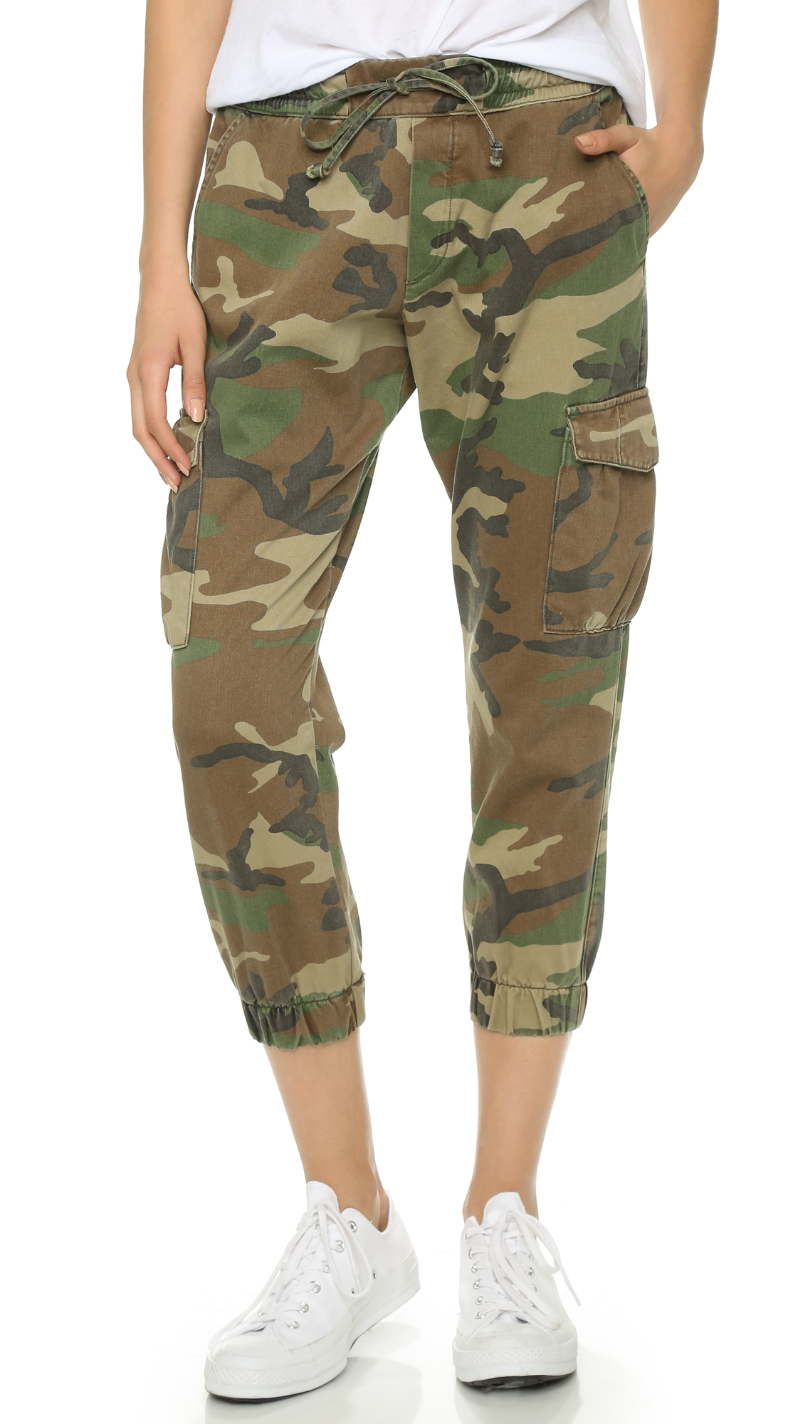 Nsf Johnny Camo Pants in Green | Lyst