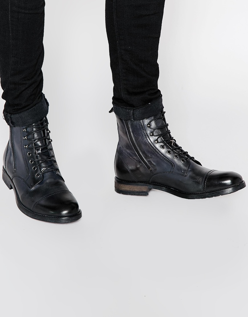Diesel D-KALLIEN - Lace-up boots - black 2wiTuuu