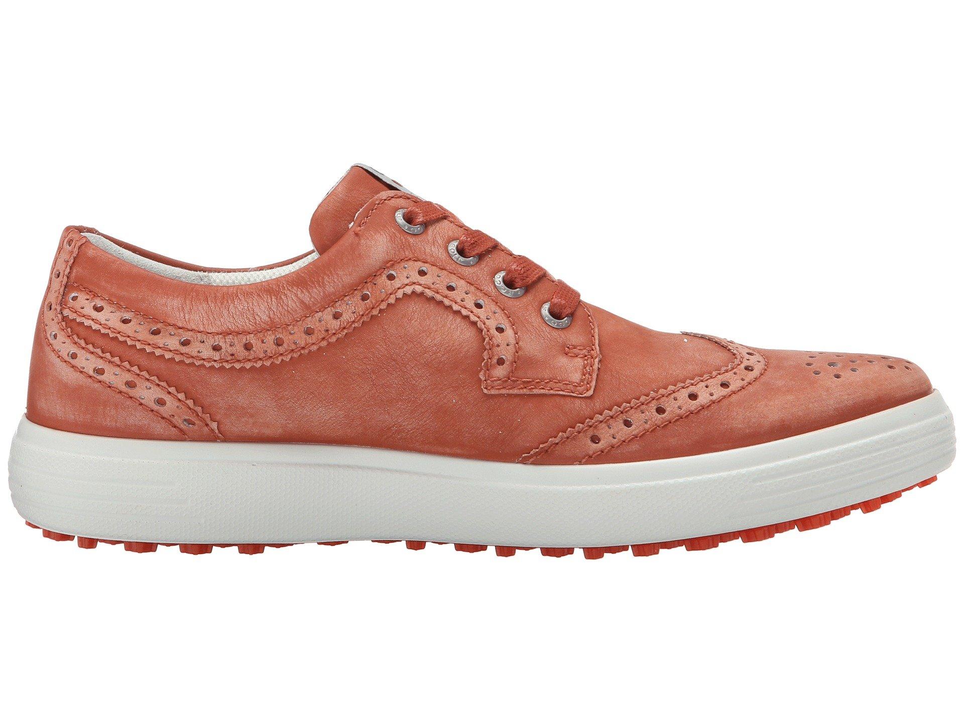 New Ecco Wingtip Golf Shoes