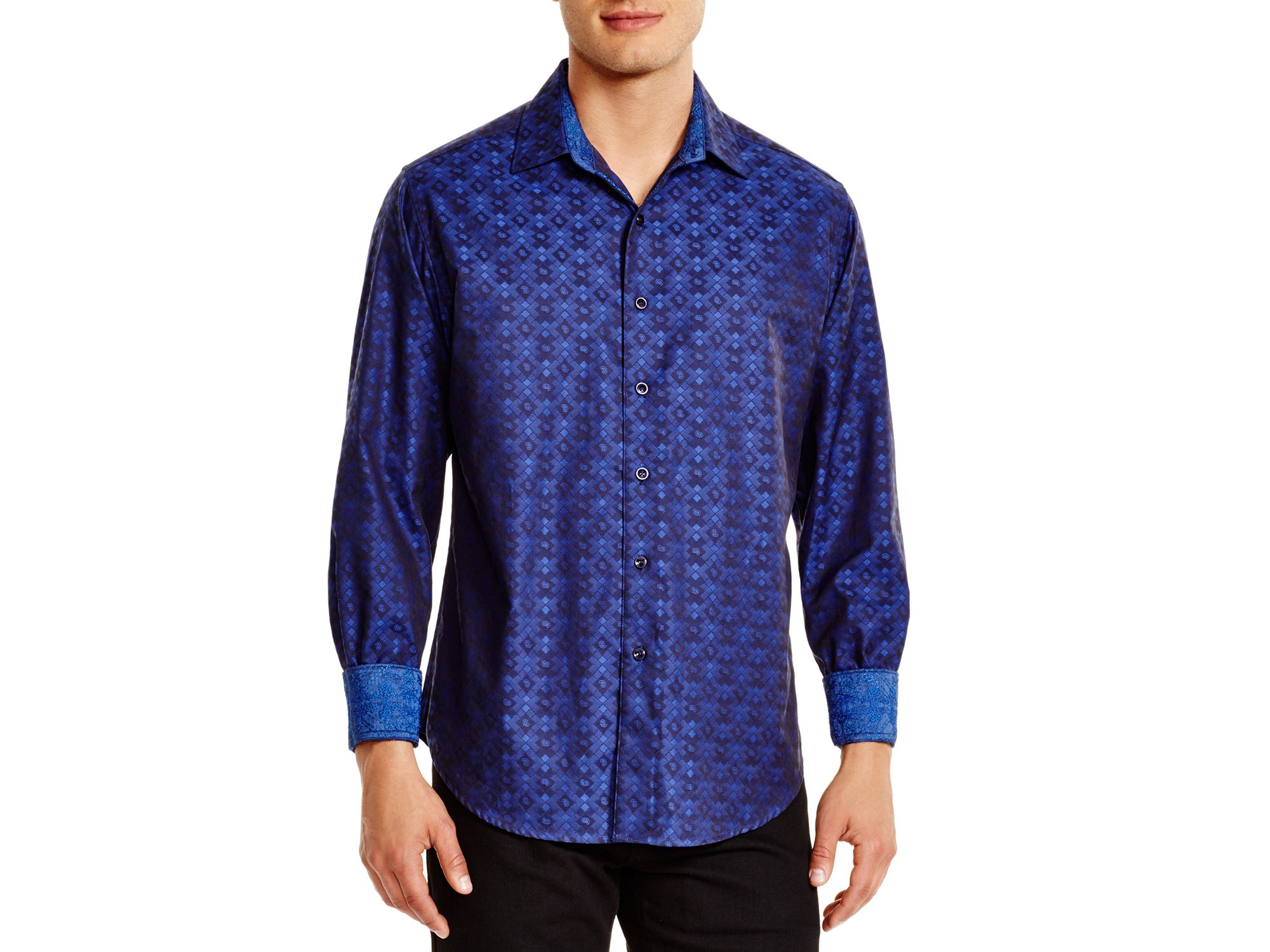 Lyst Robert Graham O 39 Donnell Classic Fit Button Down