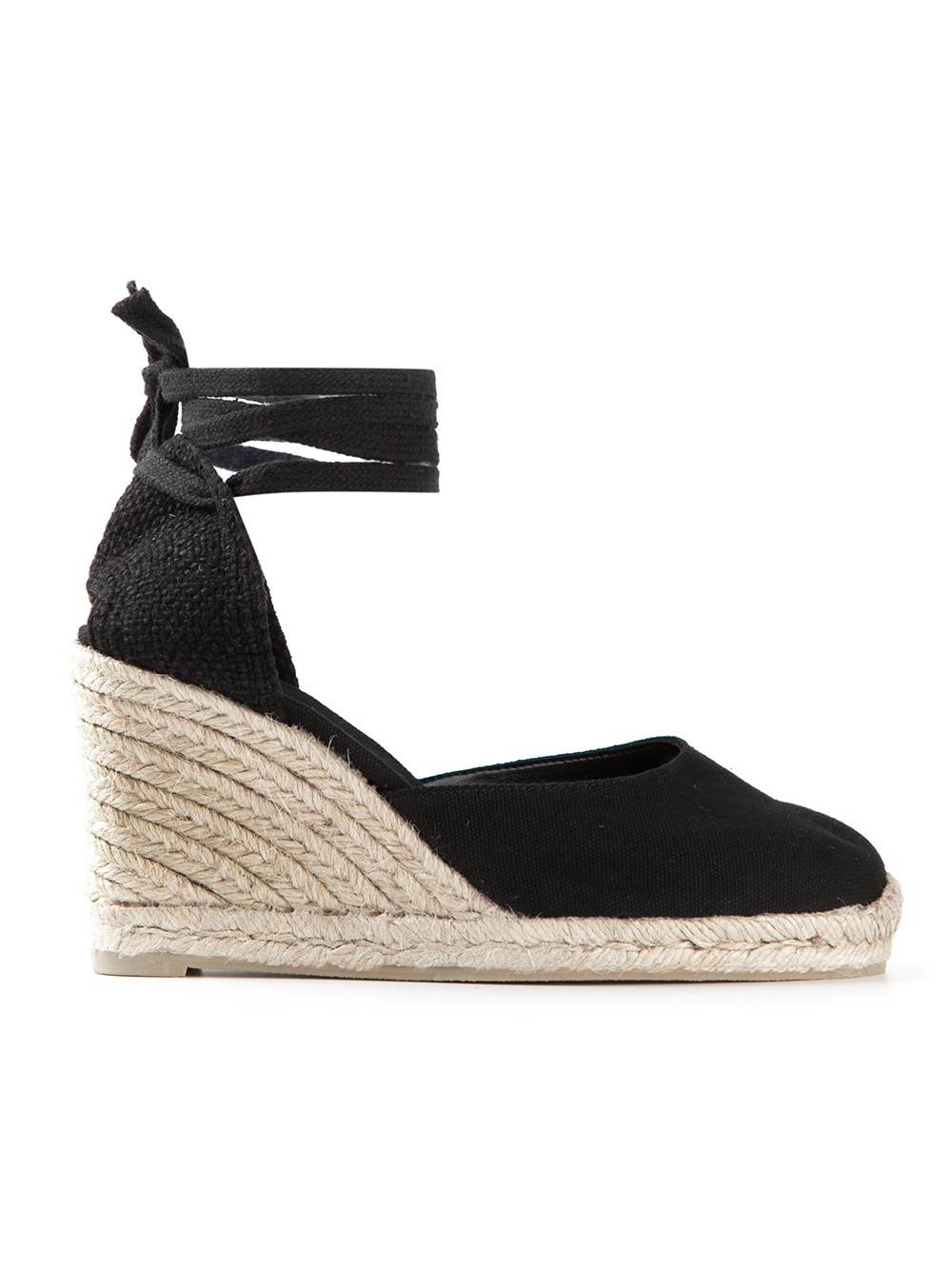 Lyst Castaner Carina Espadrille Sandals In Black