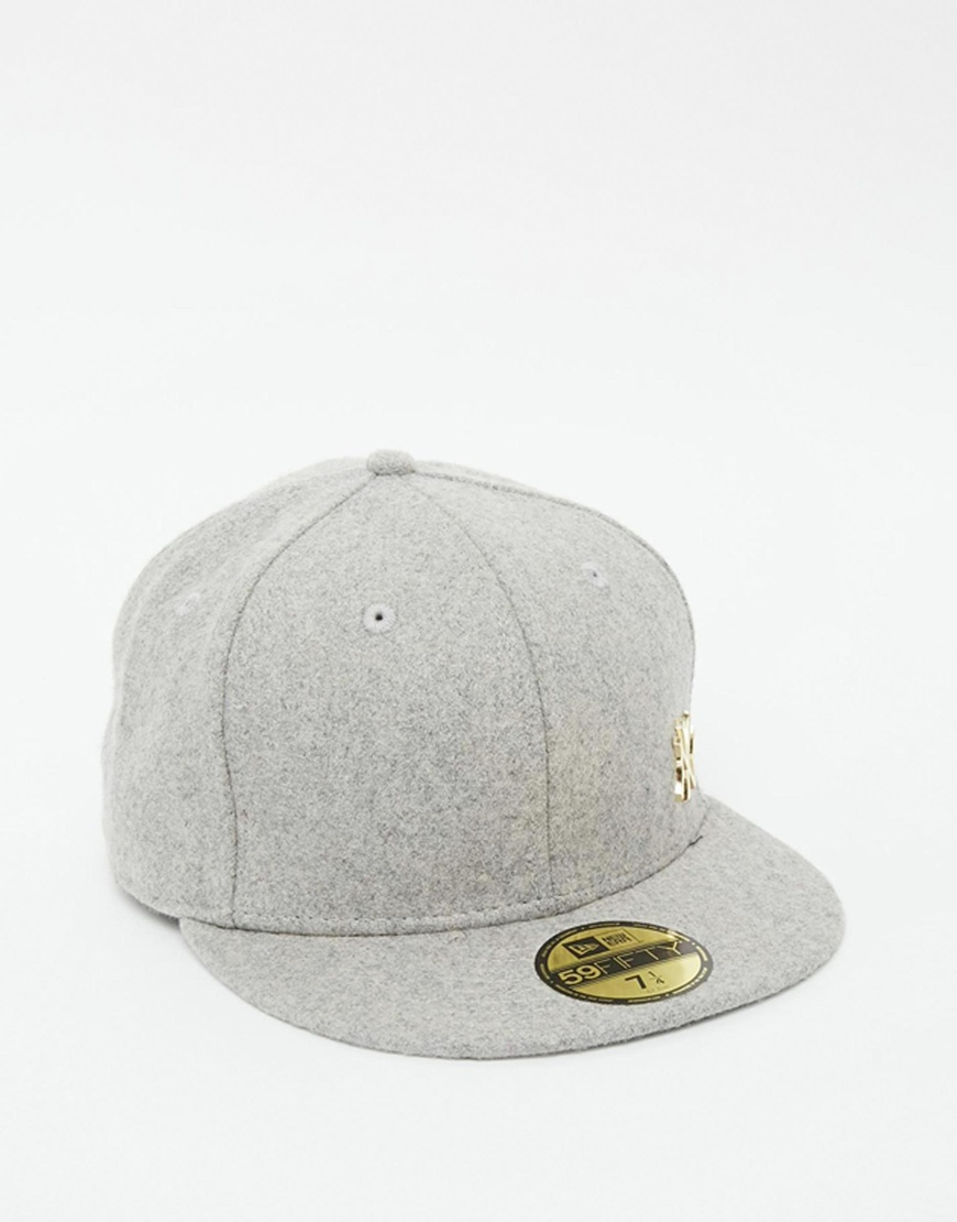 fc1e6f411ad Lyst - KTZ 59fifty Ny Yankees Fitted Cap in Gray for Men