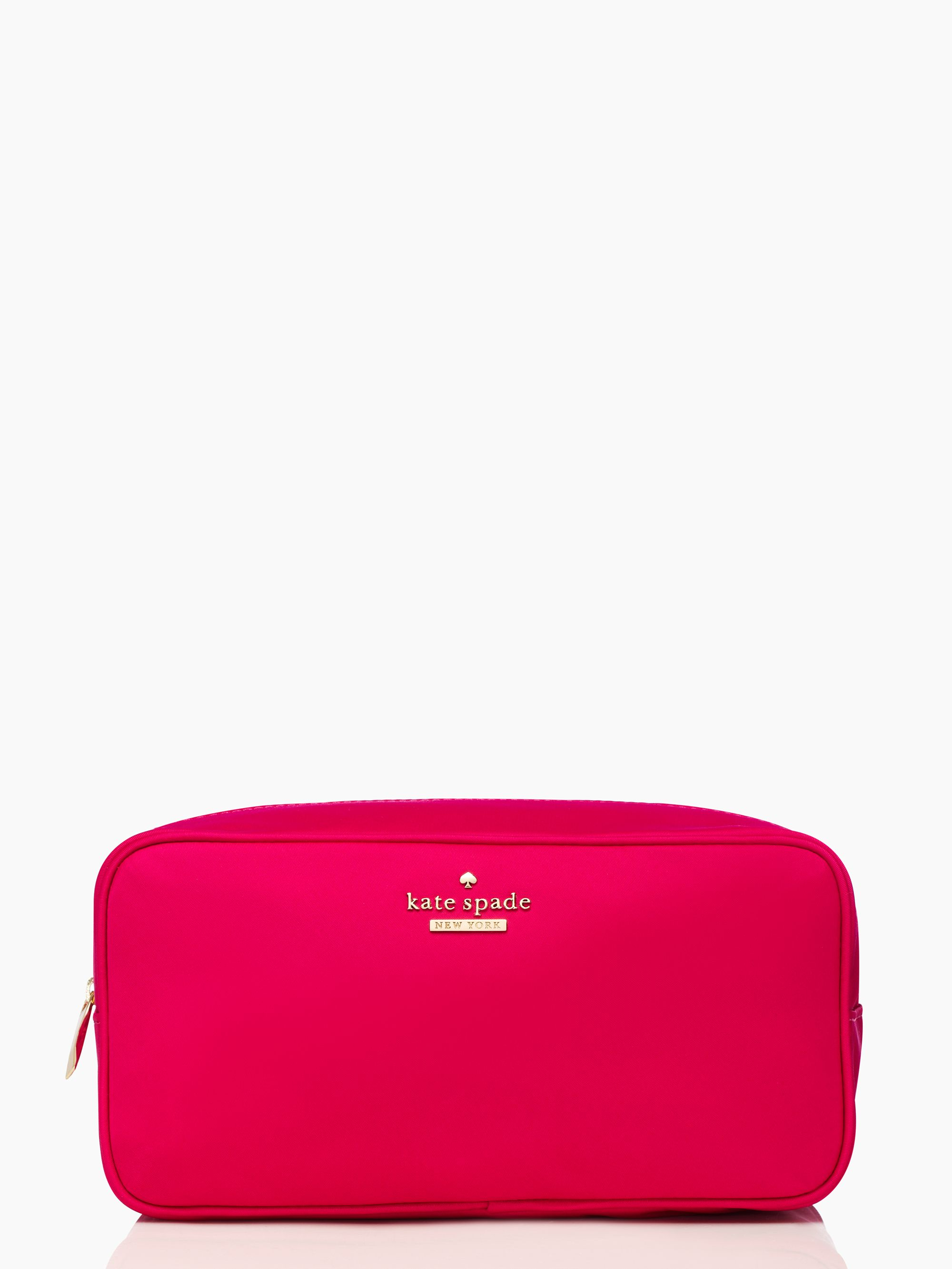 9d32bfb24bae Lyst - Kate Spade Classic Nylon Large Ezra in Pink