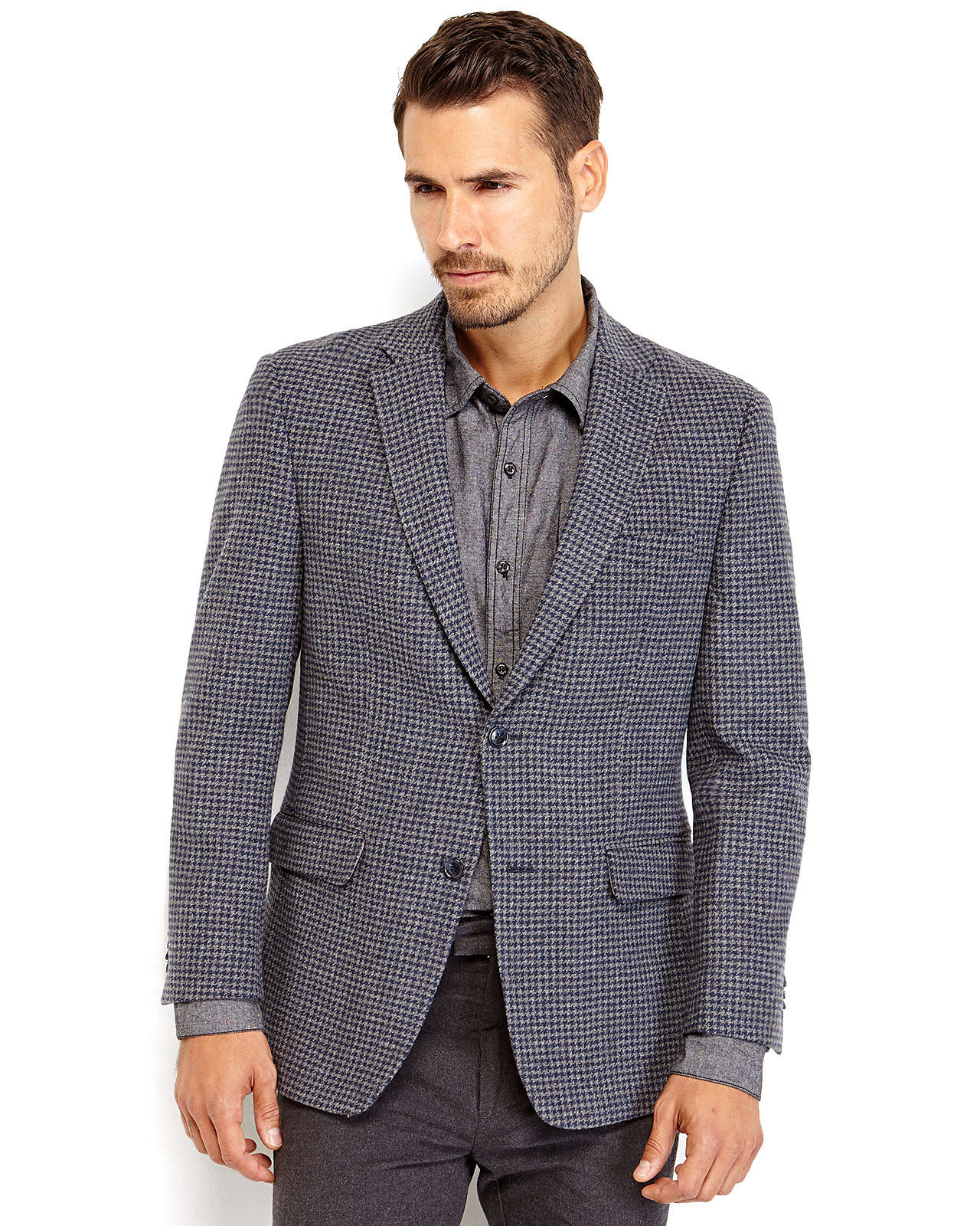Find houndstooth jacket at ShopStyle. Shop the latest collection of houndstooth jacket from the most popular stores - all in one place.