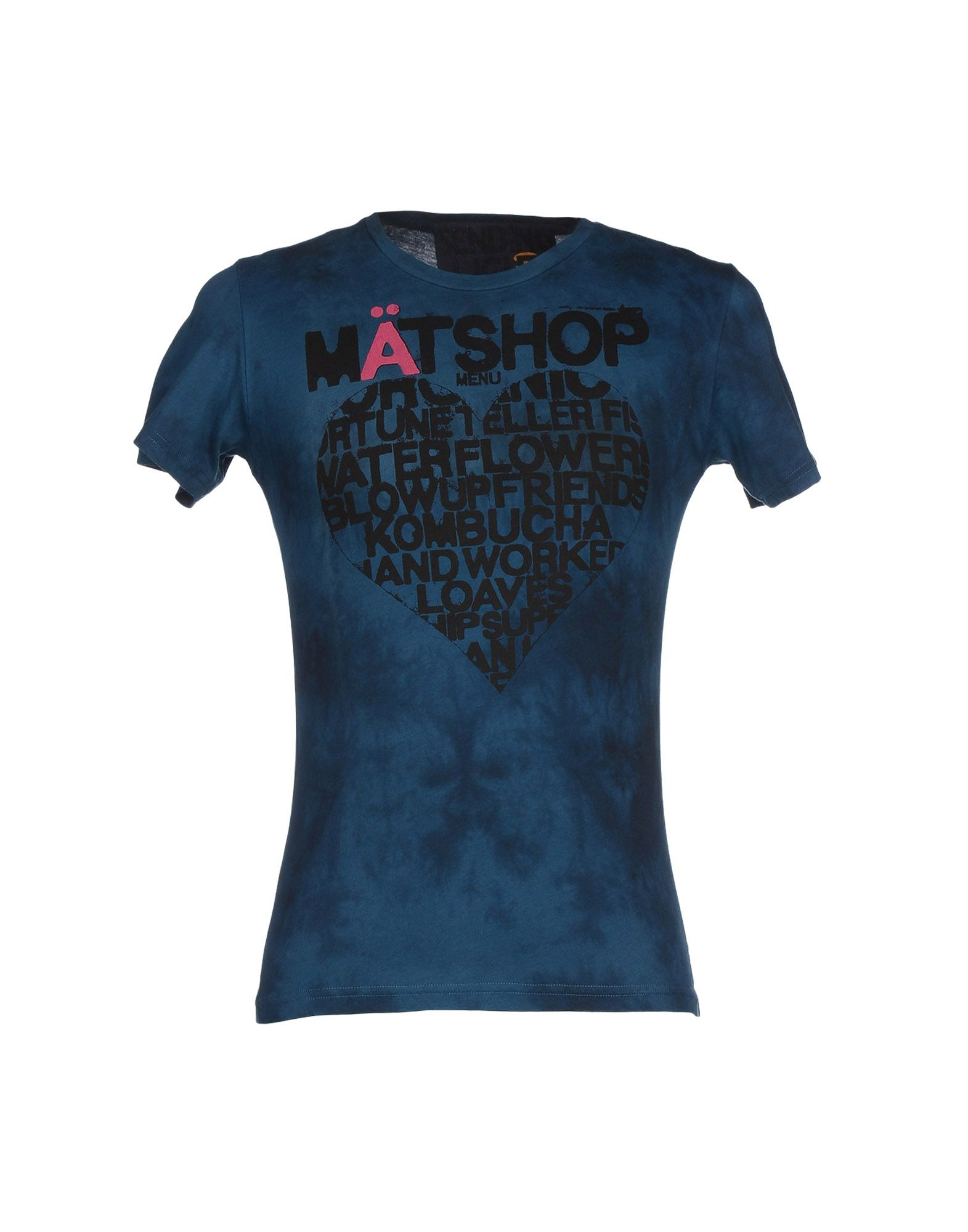 free city t shirt in blue for lyst