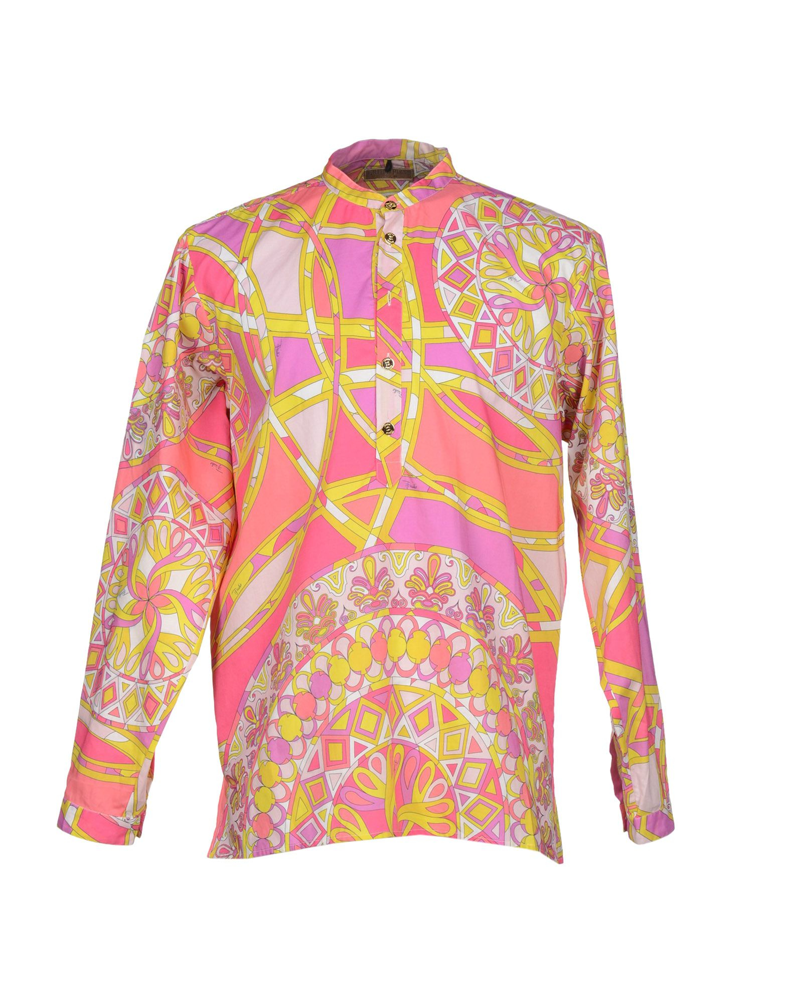 eaa22114b99d Lyst - Emilio Pucci Shirt in Pink for Men