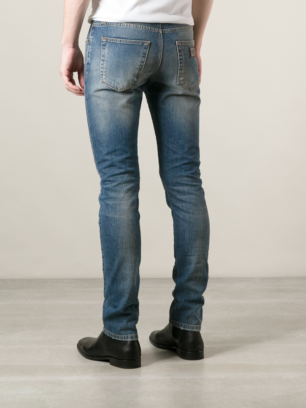 eb2f082d7 Dolce   gabbana Slim Fit Jeans in Blue for Men