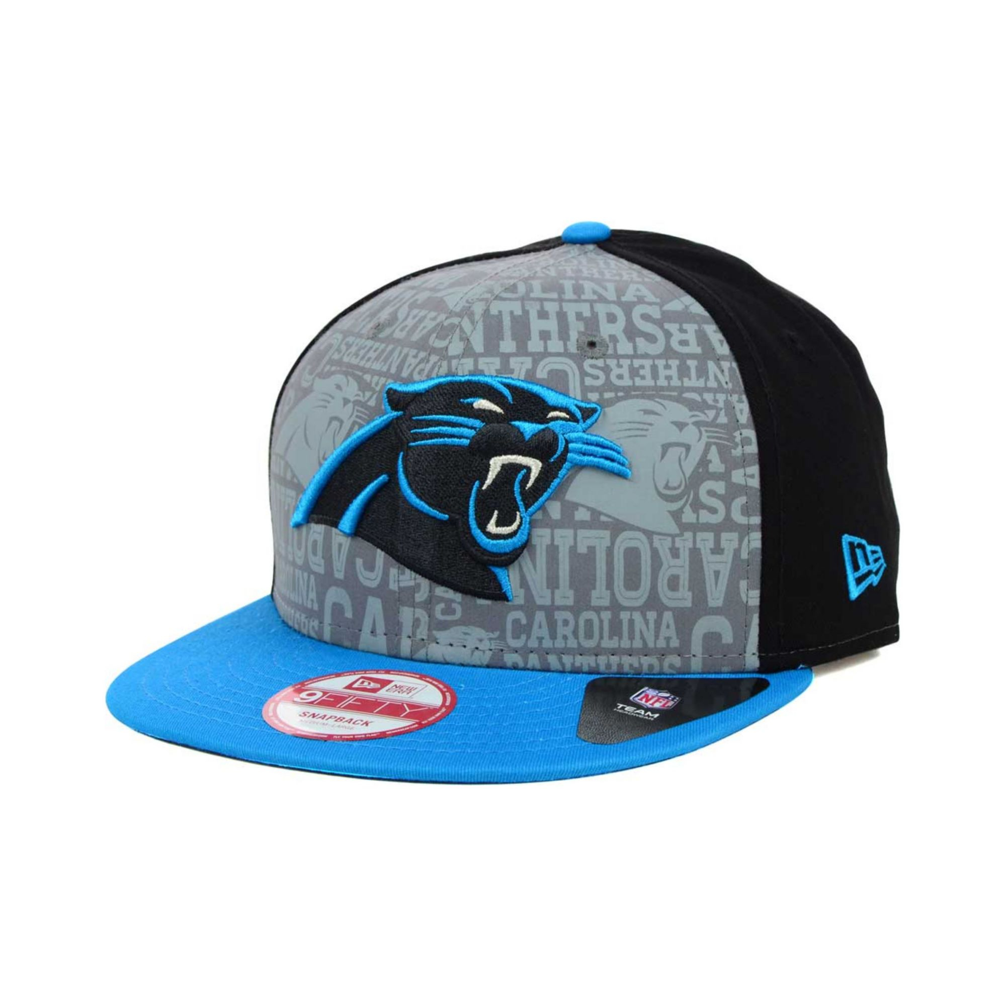 huge discount ae3b7 718a3 KTZ Carolina Panthers Nfl Draft 9fifty Snapback Cap in Blue for Men ...