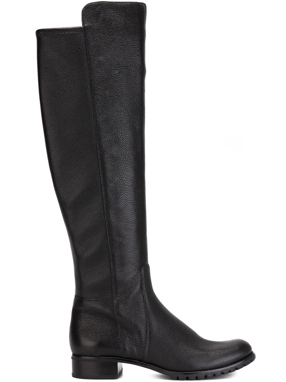 michael michael kors joanie leather knee high boots in