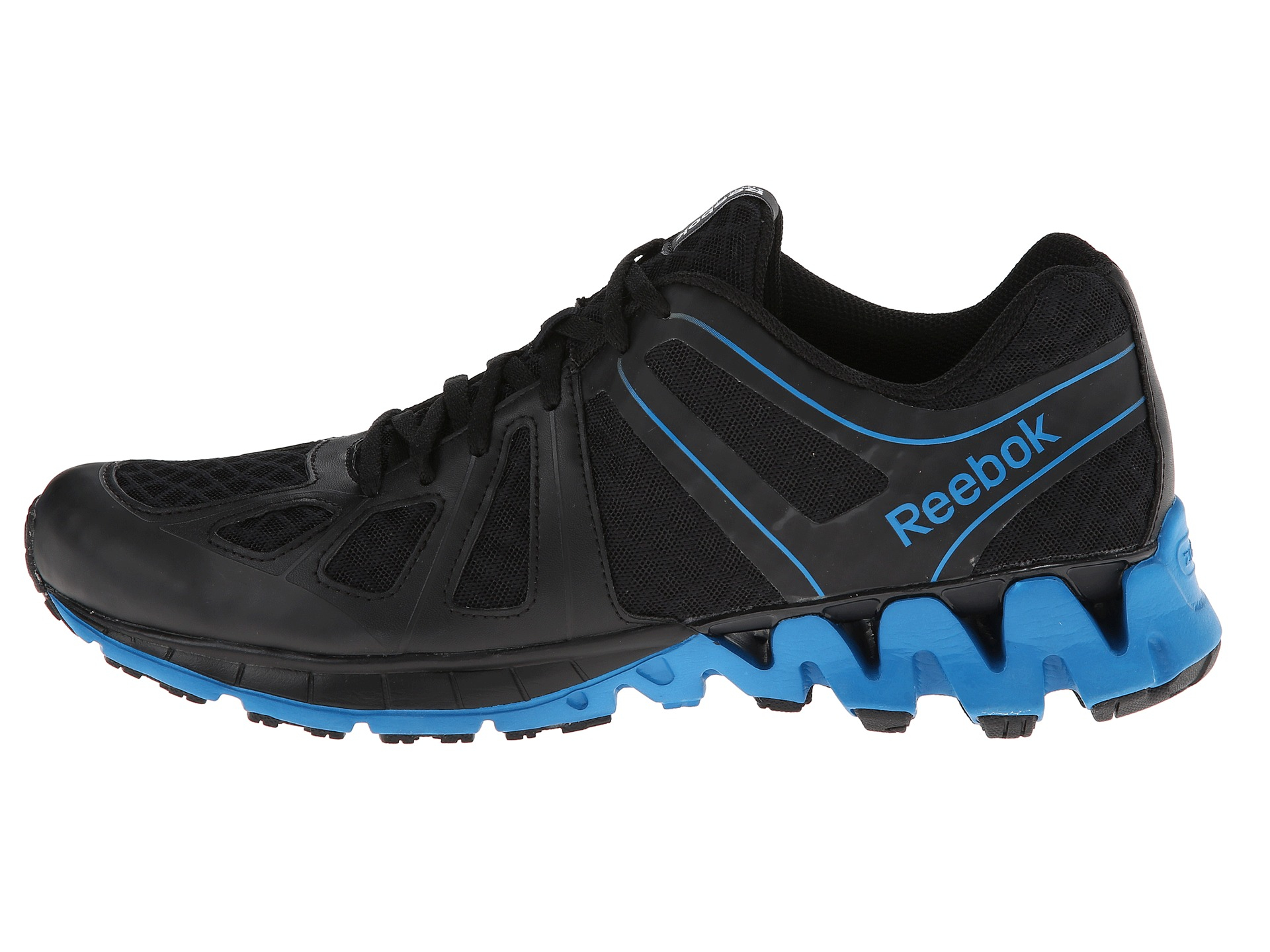 Reebok Trail Warrior Running Sneaker In Black For Men Lyst