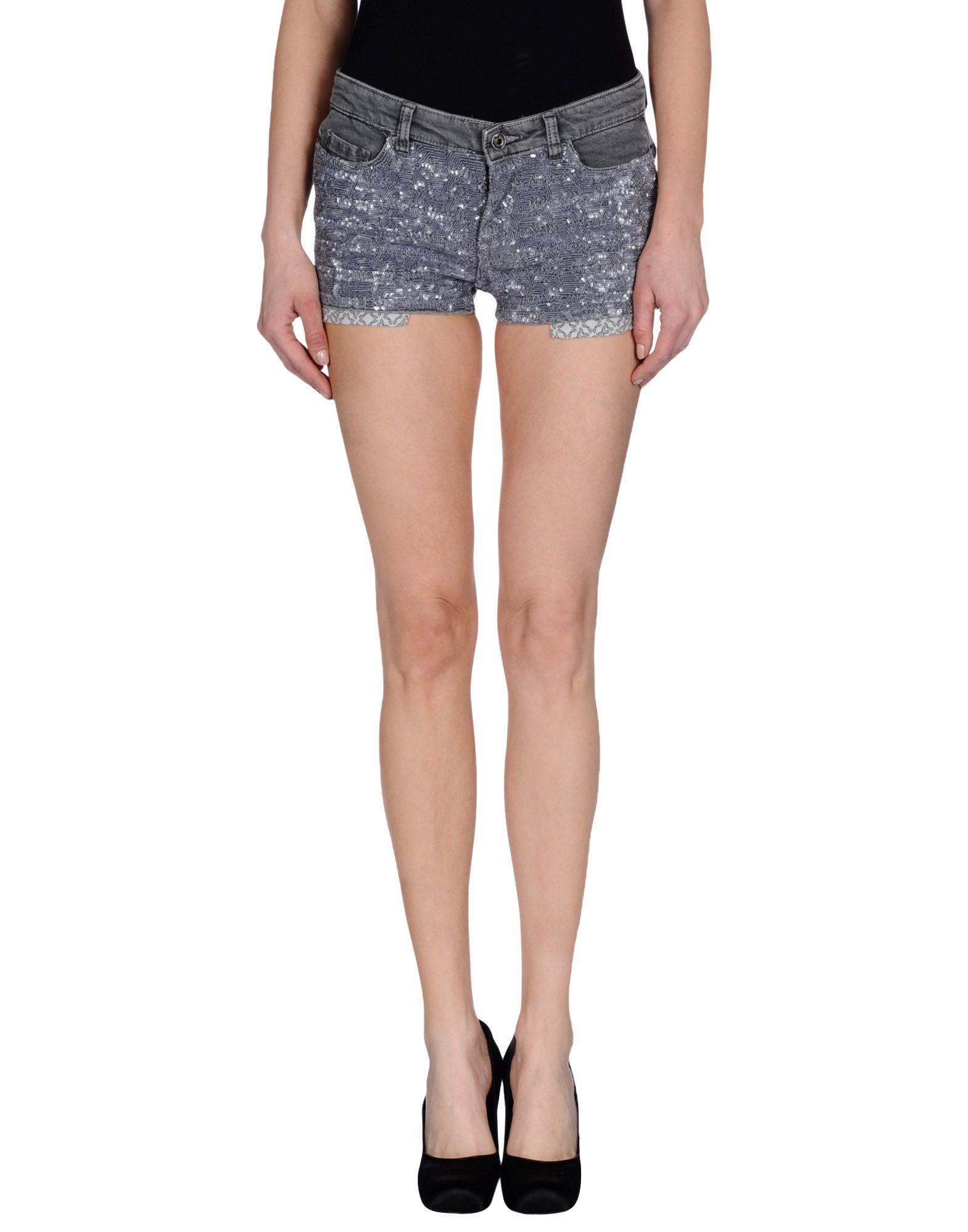 pepe jeans shorts damen pepe jeans denim shorts in blue lyst pepe jeans shorts in black save. Black Bedroom Furniture Sets. Home Design Ideas
