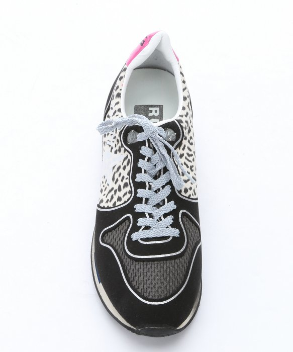 golden goose deluxe brand black and white leopard print