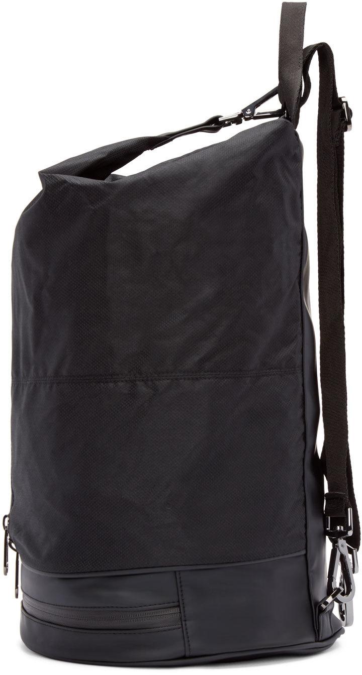 adidas By Stella McCartney Black Nylon Gymbag 5 Backpack in Black - Lyst c1ad66880fbed