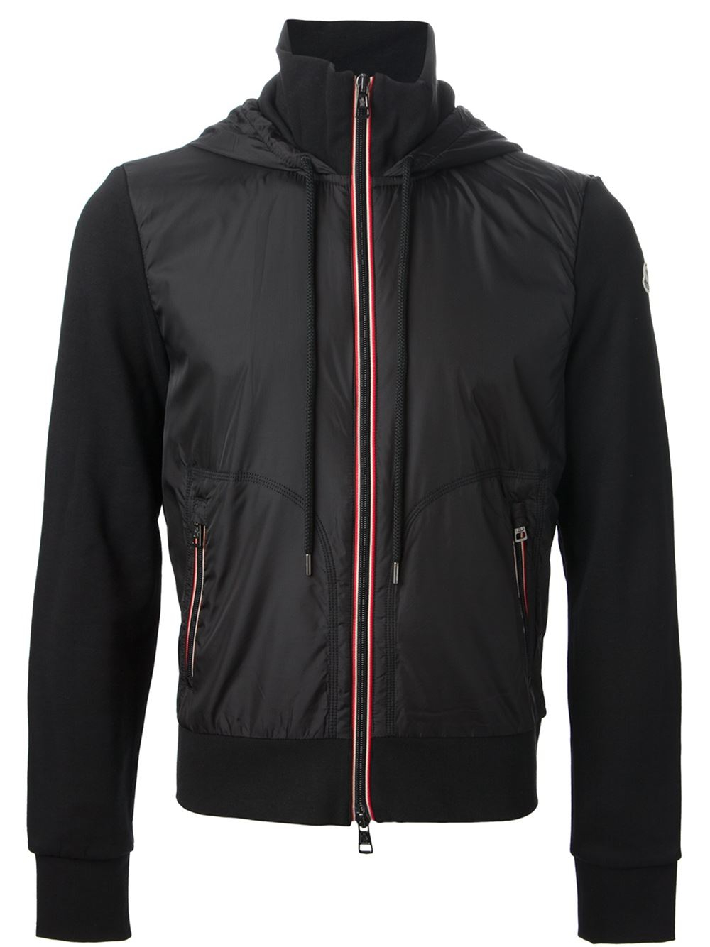 Lyst Moncler Hoodie Style Jacket In Black For Men