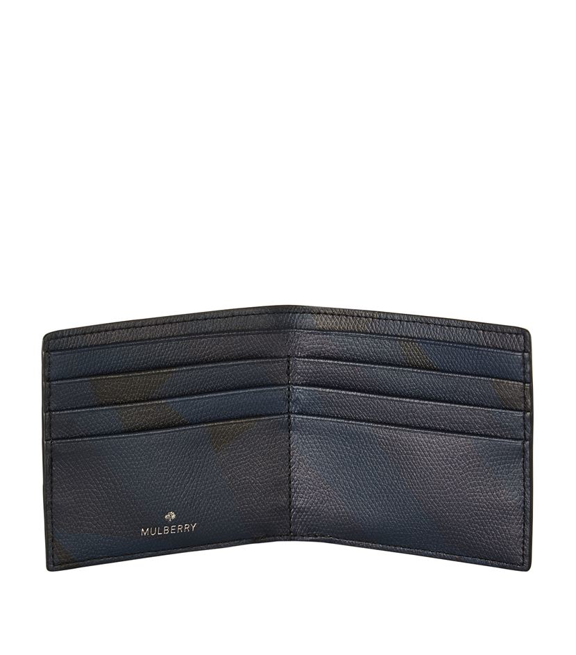 ead9855b16da 6377c 2d363  clearance mulberry mul camo slim 6 card wallet in blue for men  lyst 87036 d856f