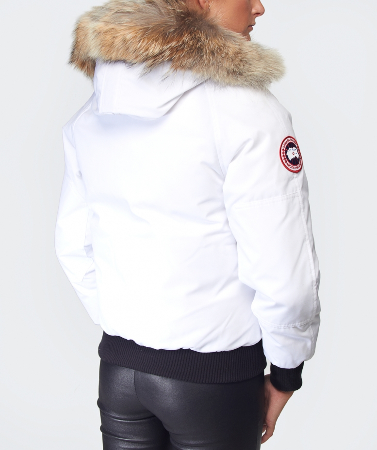 Canada Goose trillium parka online fake - Canada goose Chilliwack Bomber Jacket in White (WHTE)   Lyst