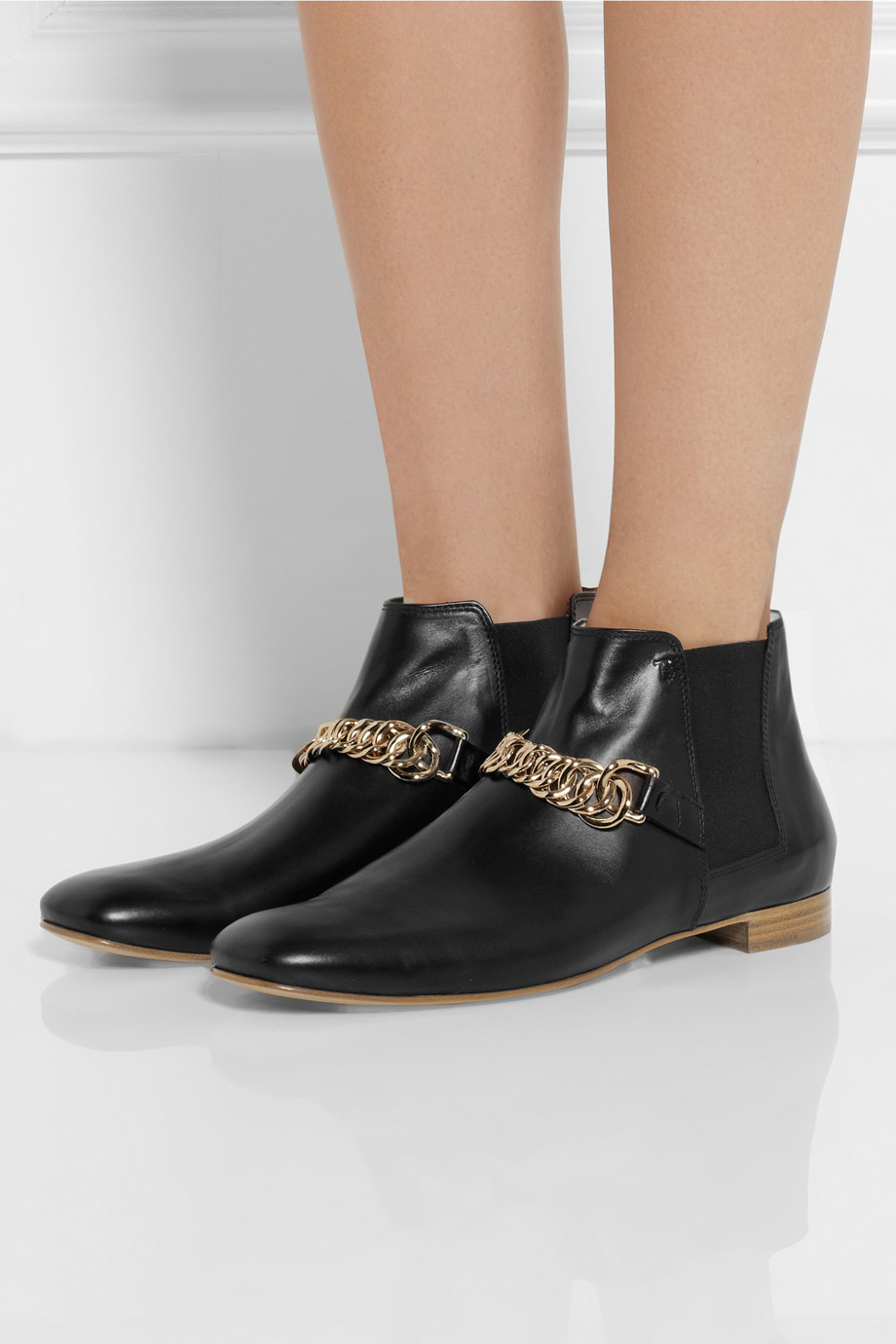 Tod's Embellished ankle boots EqN0ZPvoa