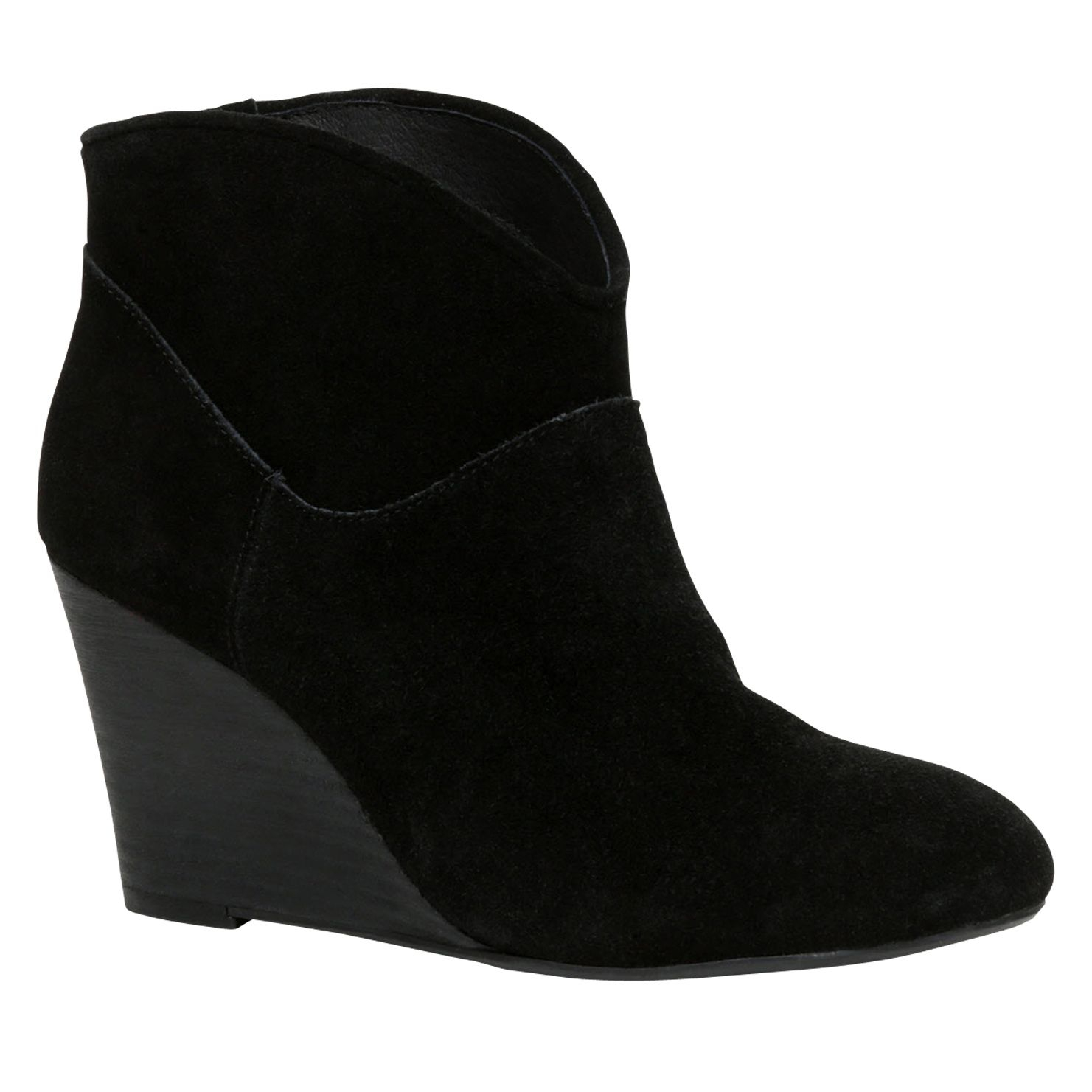 Aldo Figode Wedge Ankle Boots in Black | Lyst