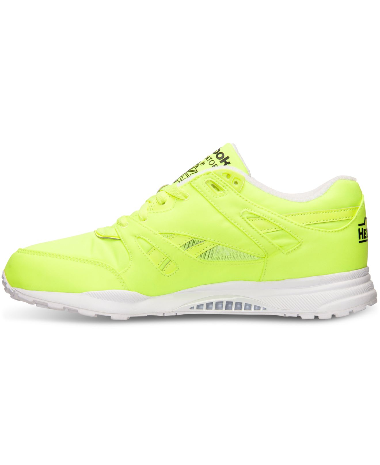 80086923f2a4 Lyst - Reebok Men s Ventilator Day Glow Casual Sneakers From Finish Line in  Yellow for Men