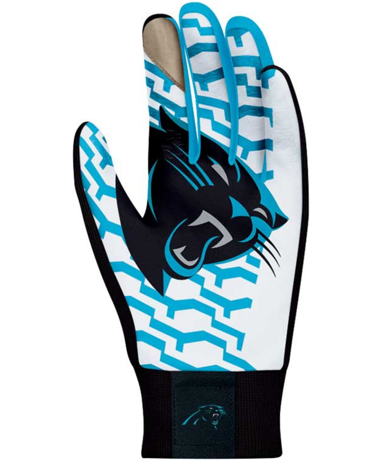 Lyst - Nike Carolina Panthers Stadium Gloves in Blue for Men 5124cbdfe