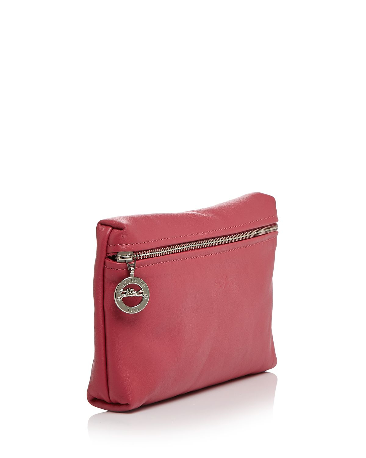 fb85d16484 Lyst - Longchamp Le Pliage Cosmetic Case in Red