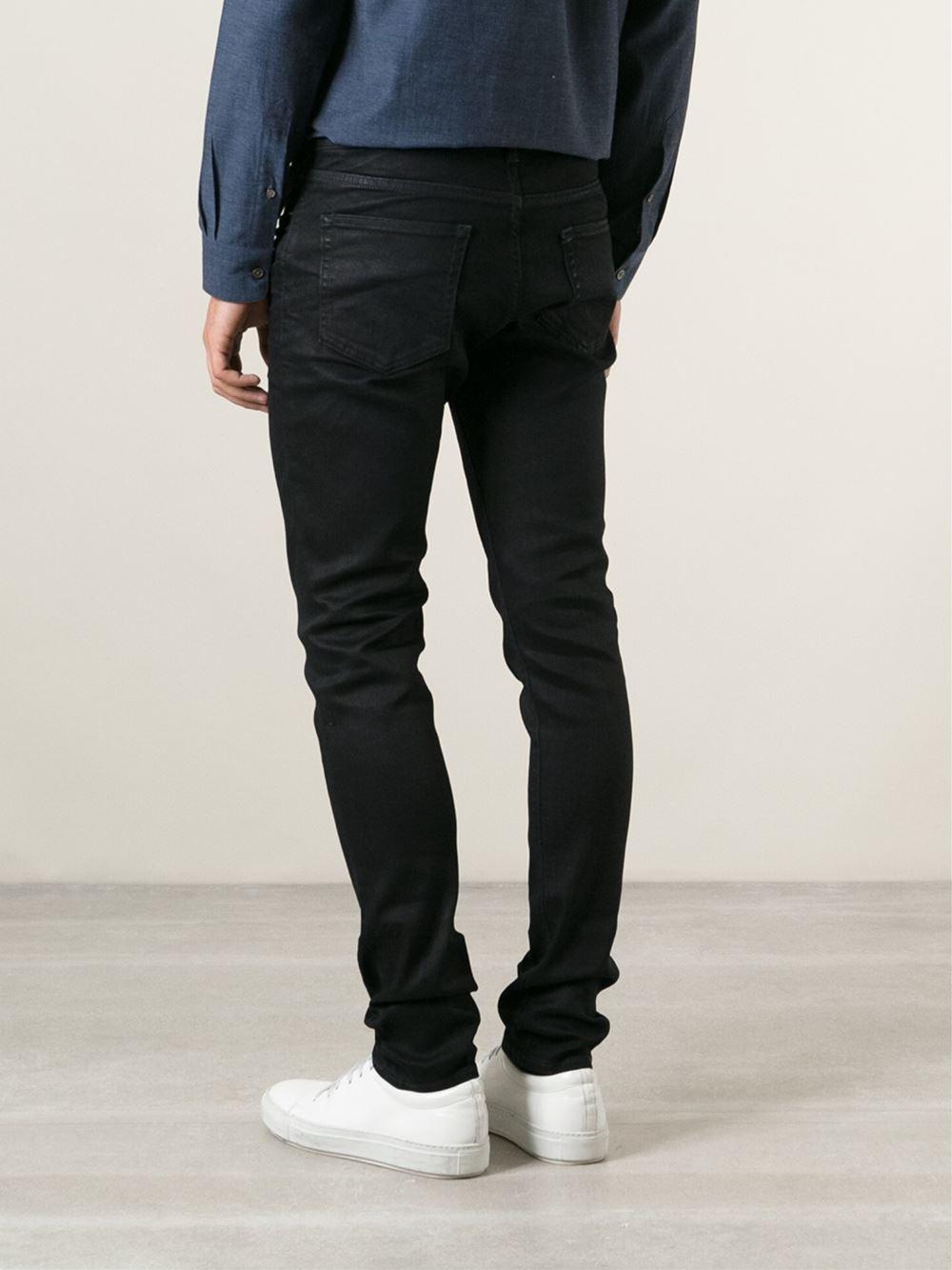 Lyst - Acne Studios  Thin Dawn  Jeans in Black for Men b5df8d036c5