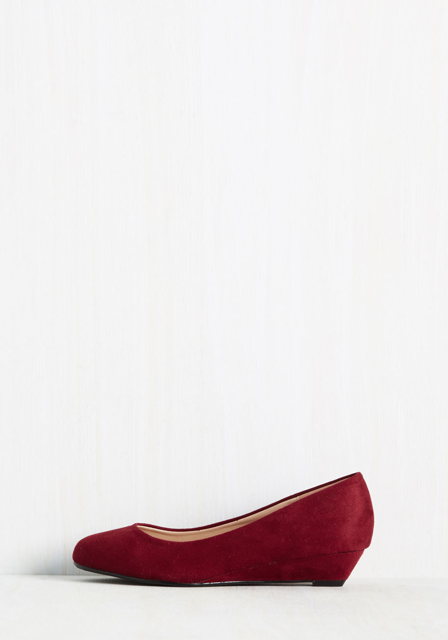 shoe magnate inc secret steppin wedge in multicolor
