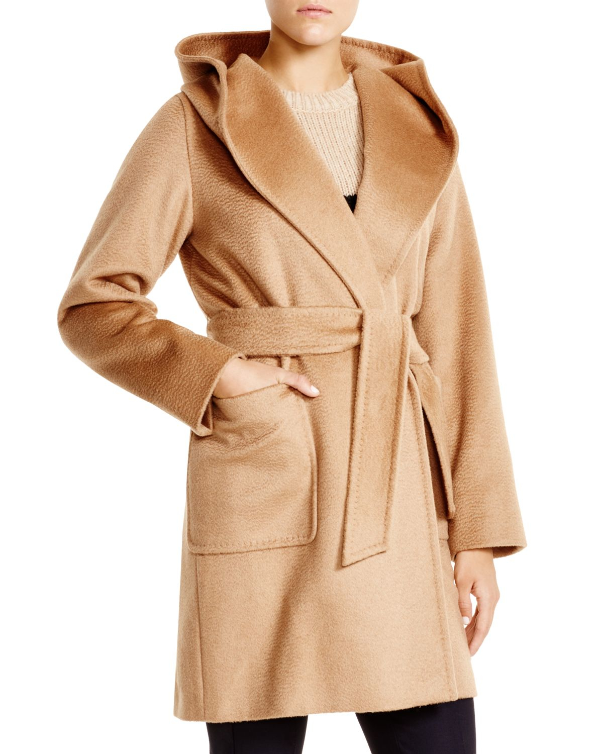 022e7d2dc5a Lyst - Max Mara Rialto Coat in Natural